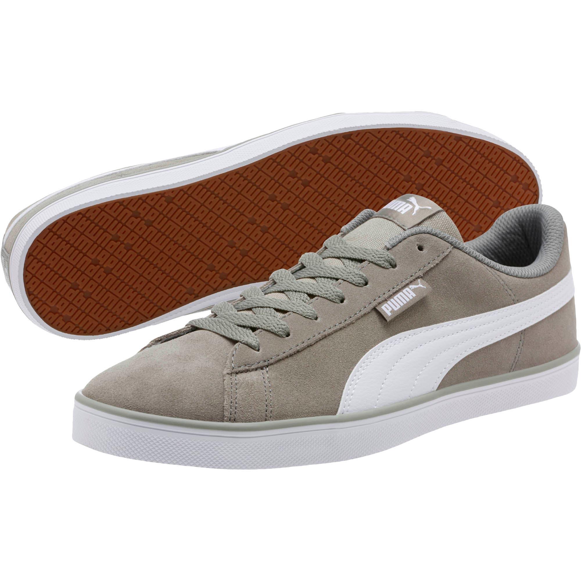 Thumbnail 2 of Urban Plus Suede Sneakers, Rock Ridge-Puma White, medium