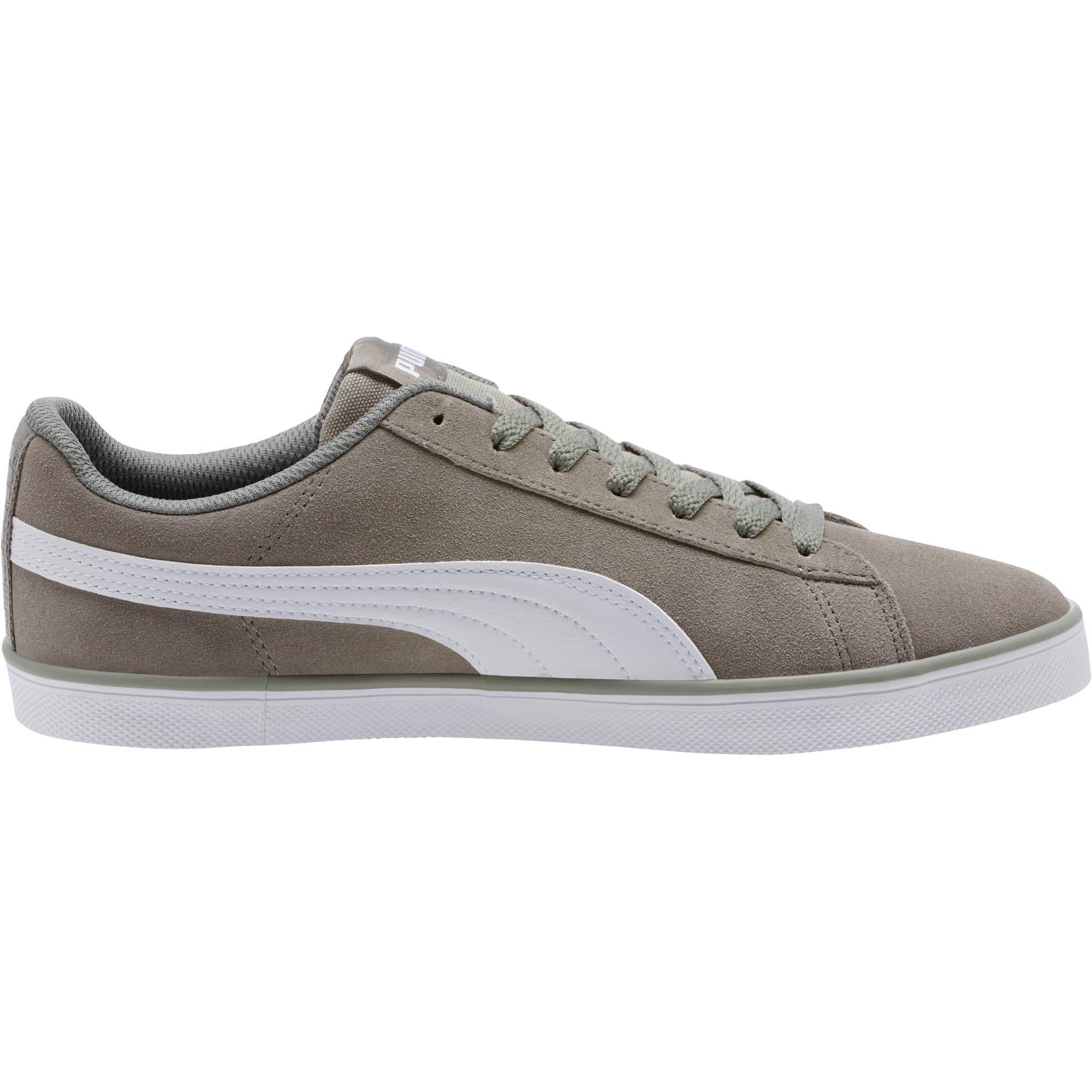 Thumbnail 3 of Urban Plus Suede Sneakers, Rock Ridge-Puma White, medium
