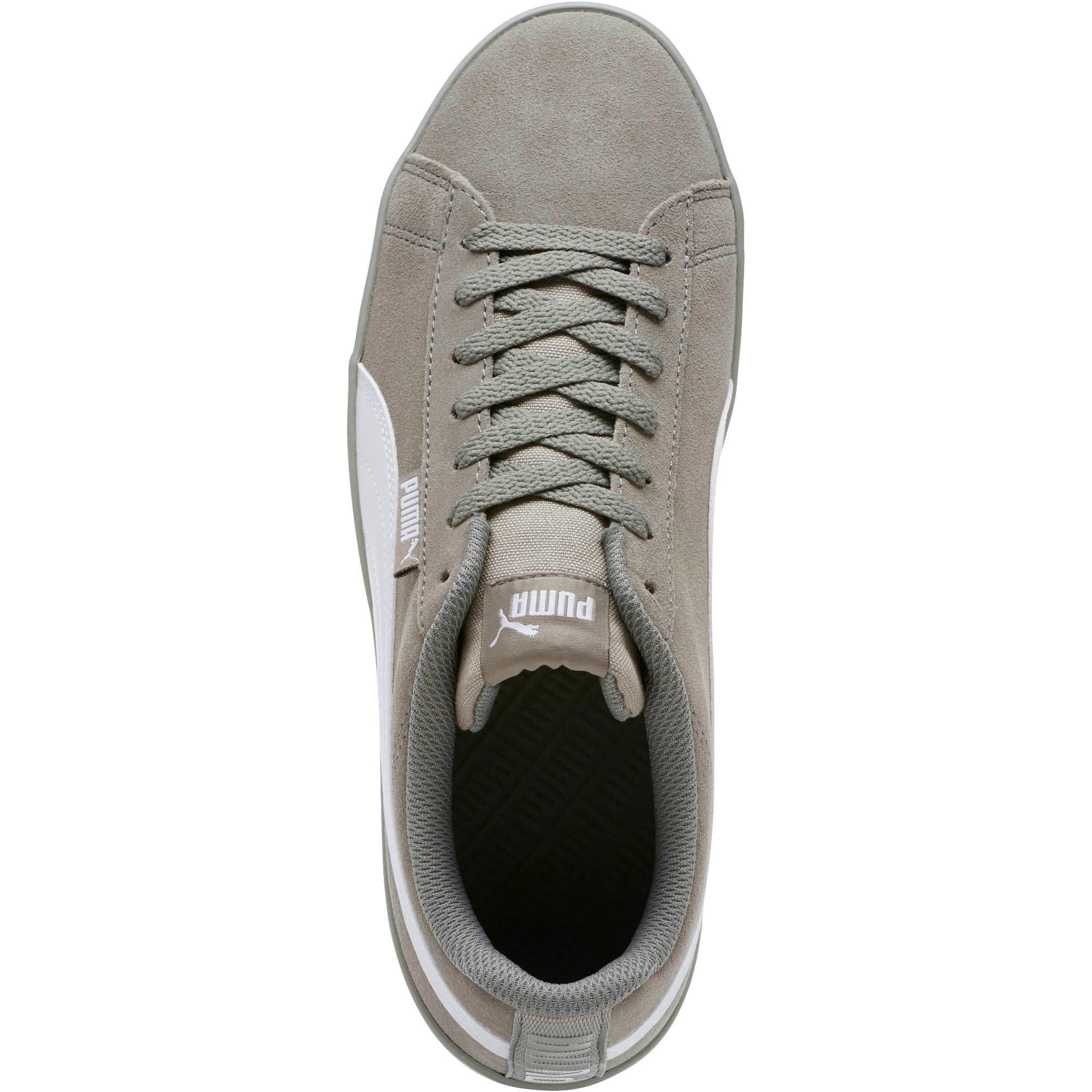Thumbnail 5 of Urban Plus Suede Sneakers, Rock Ridge-Puma White, medium