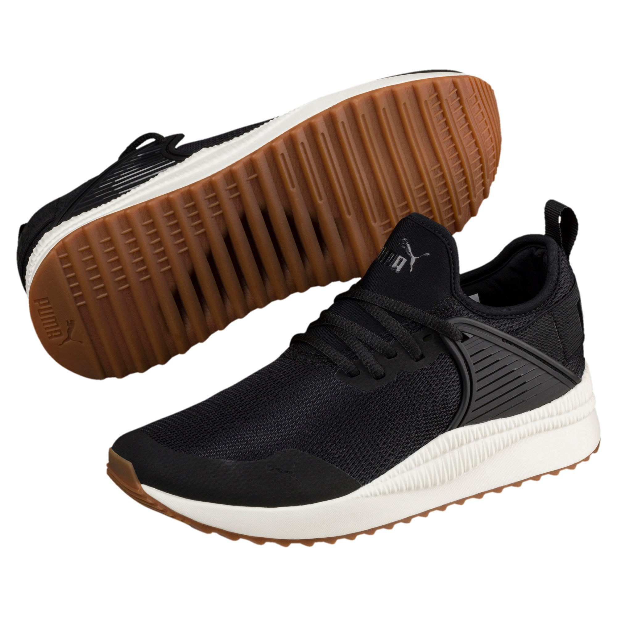 Thumbnail 2 of Pacer Next Cage Sneakers, P. Black-P. Black-Whis.White, medium