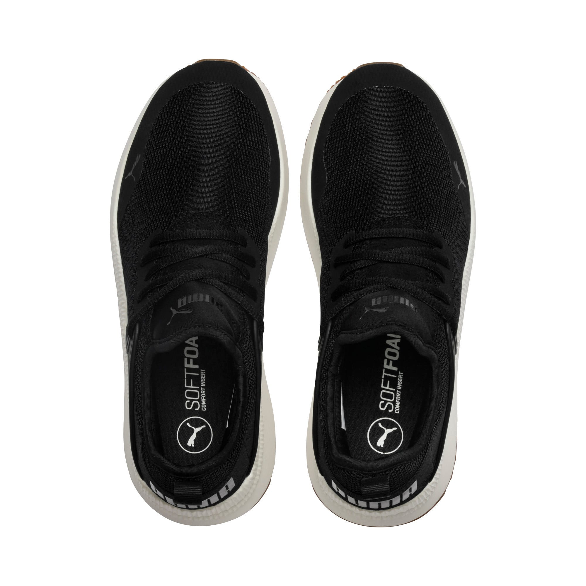 Thumbnail 6 of Pacer Next Cage Sneakers, P. Black-P. Black-Whis.White, medium