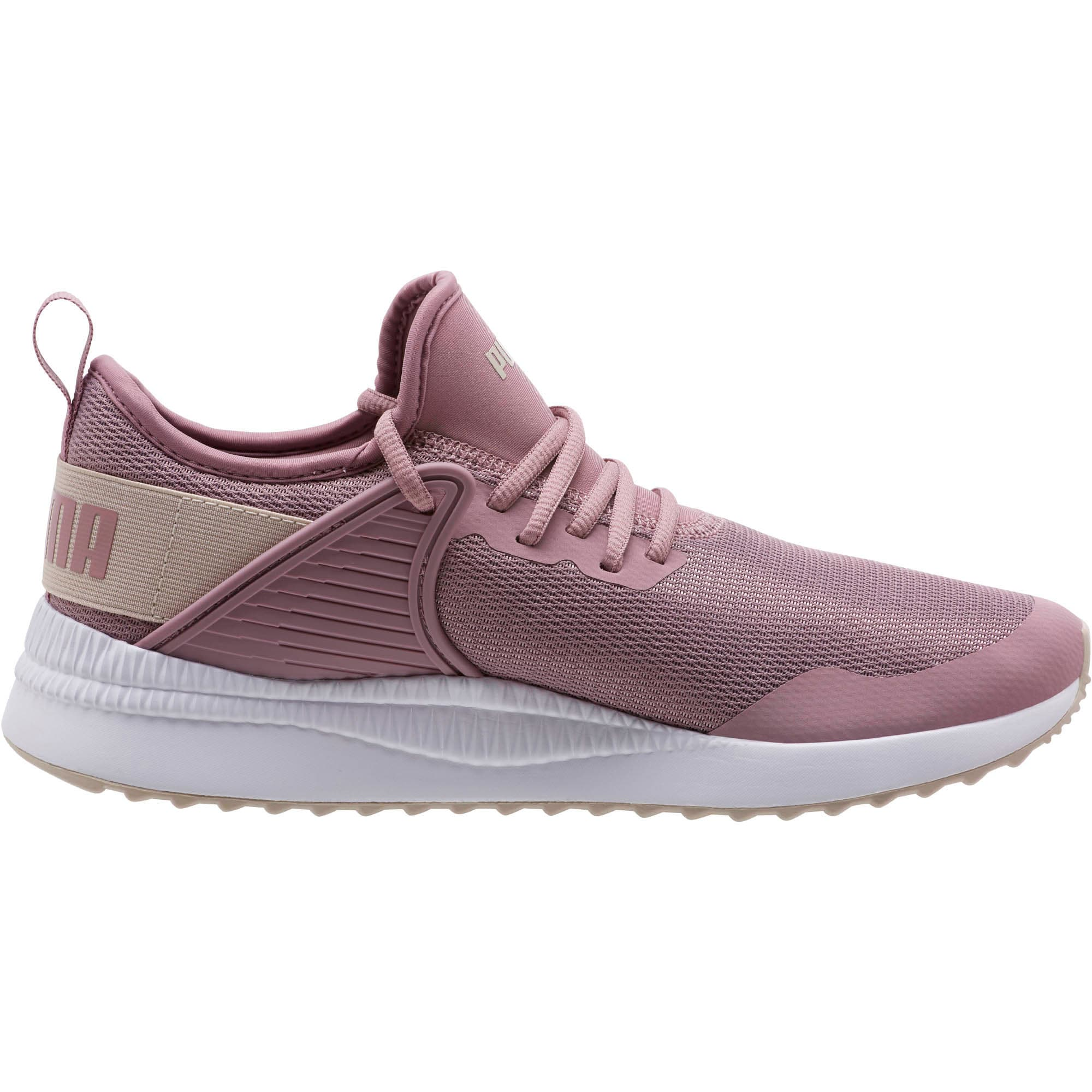 Thumbnail 3 of Pacer Next Cage Sneakers, Elderberry-Silver Gray, medium