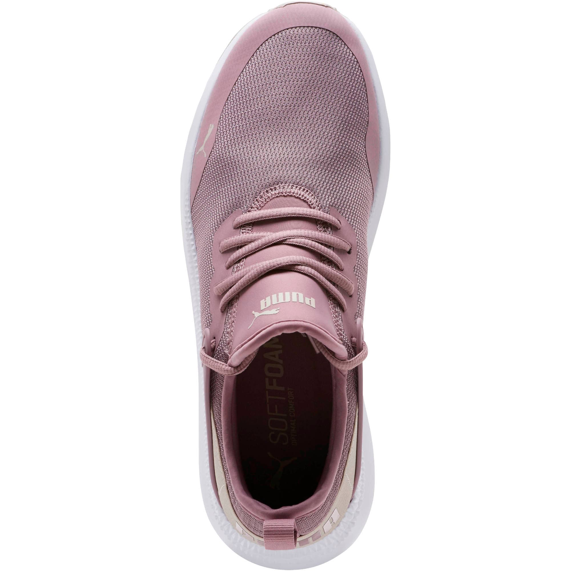 Thumbnail 5 of Pacer Next Cage Sneakers, Elderberry-Silver Gray, medium