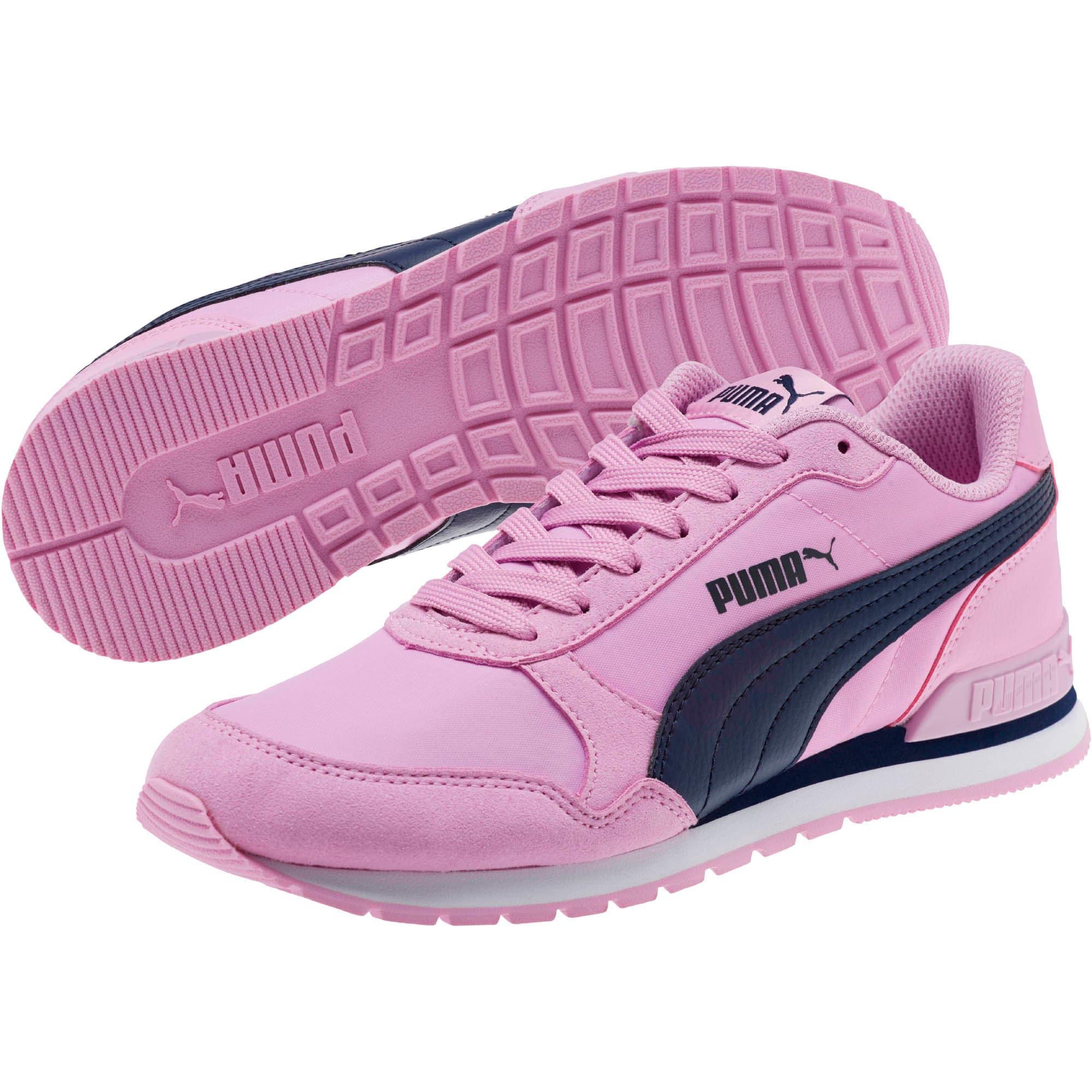 Thumbnail 2 of ST Runner v2 NL Sneakers JR, Orchid-Peacoat, medium