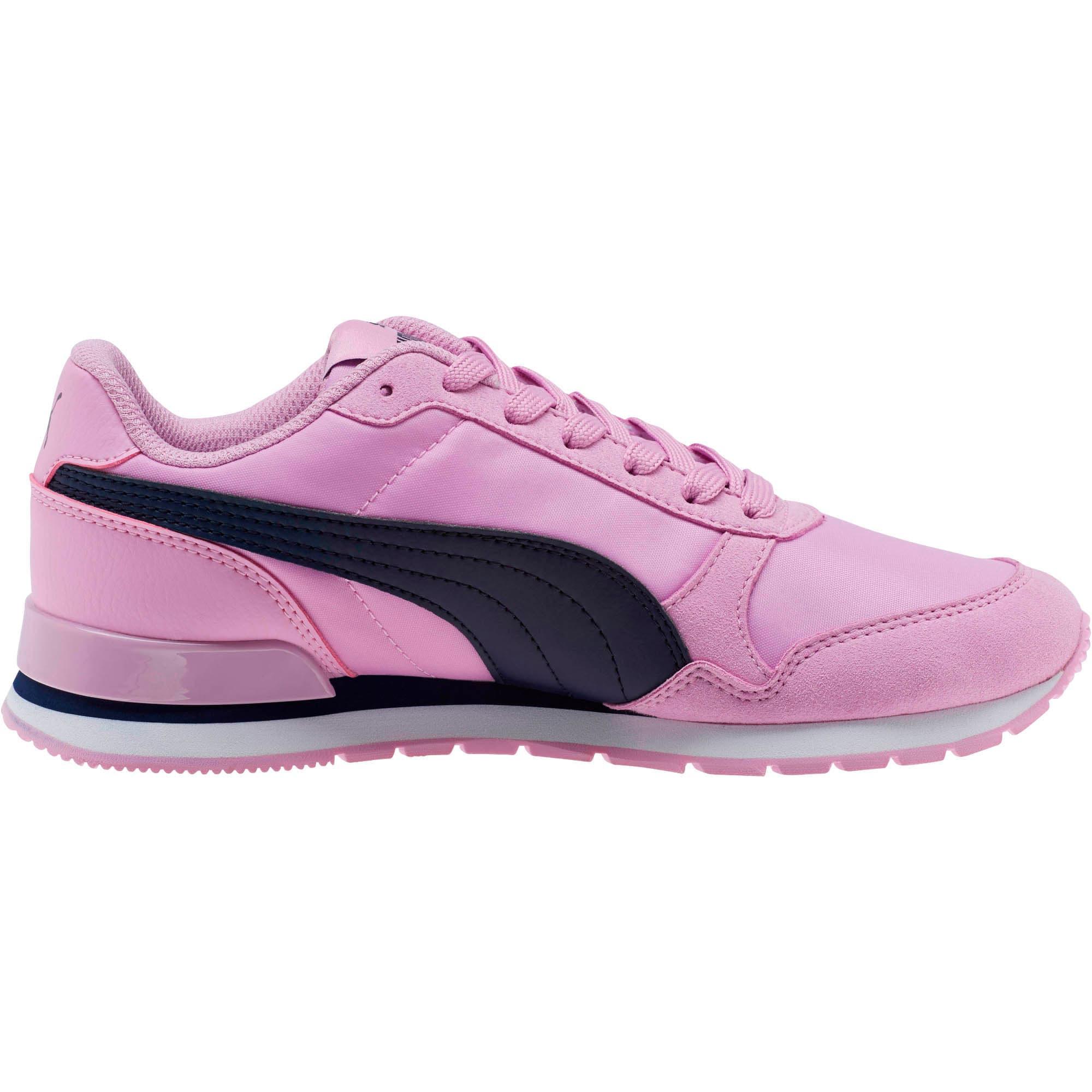 Thumbnail 3 of ST Runner v2 NL Sneakers JR, Orchid-Peacoat, medium