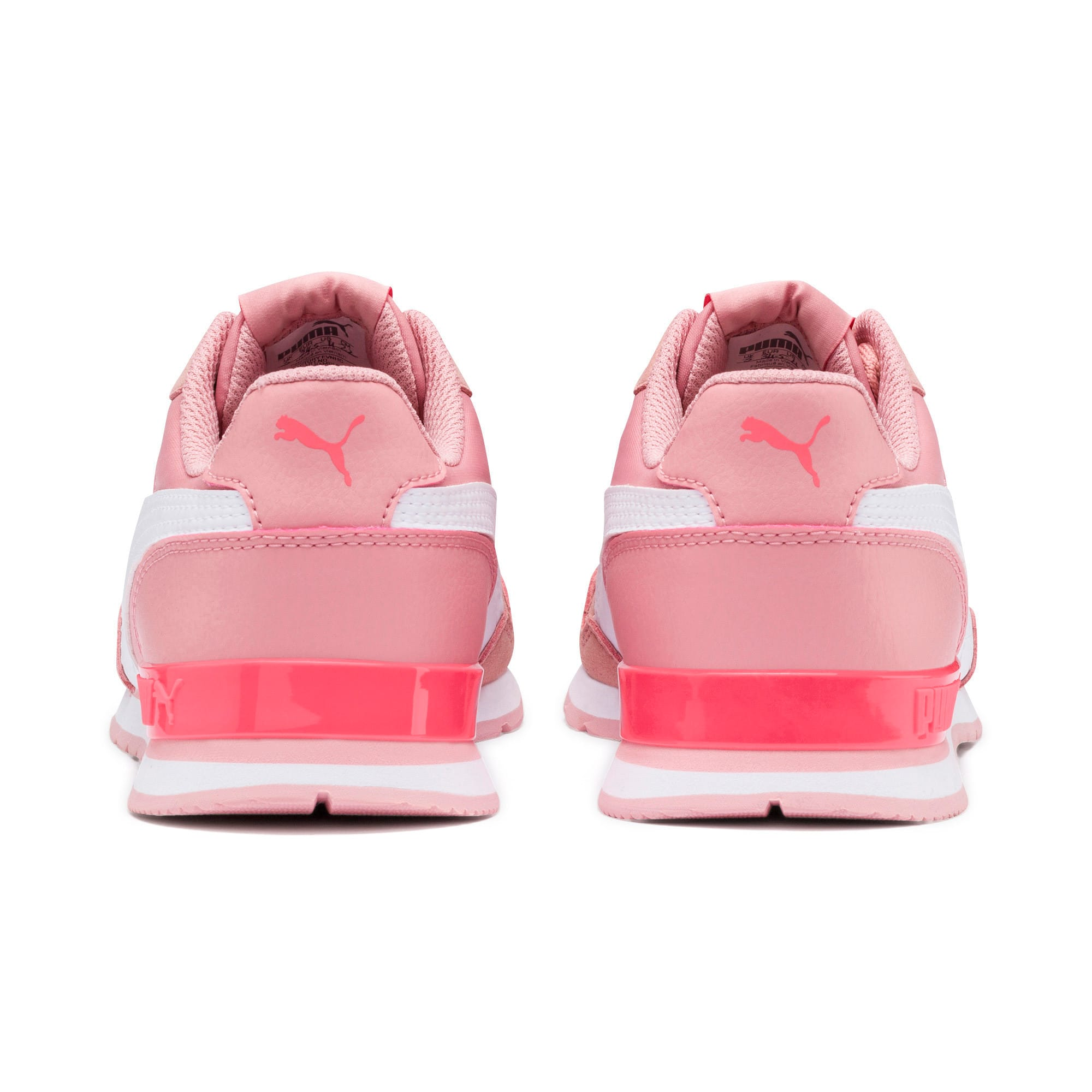 Thumbnail 4 of ST Runner v2 NL Sneakers JR, Bridal Rose-Puma White, medium