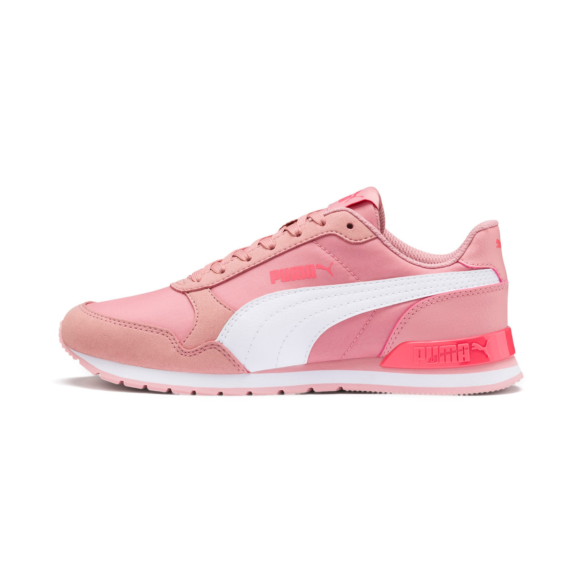 Thumbnail 1 of ST Runner v2 NL Sneakers JR, Bridal Rose-Puma White, medium
