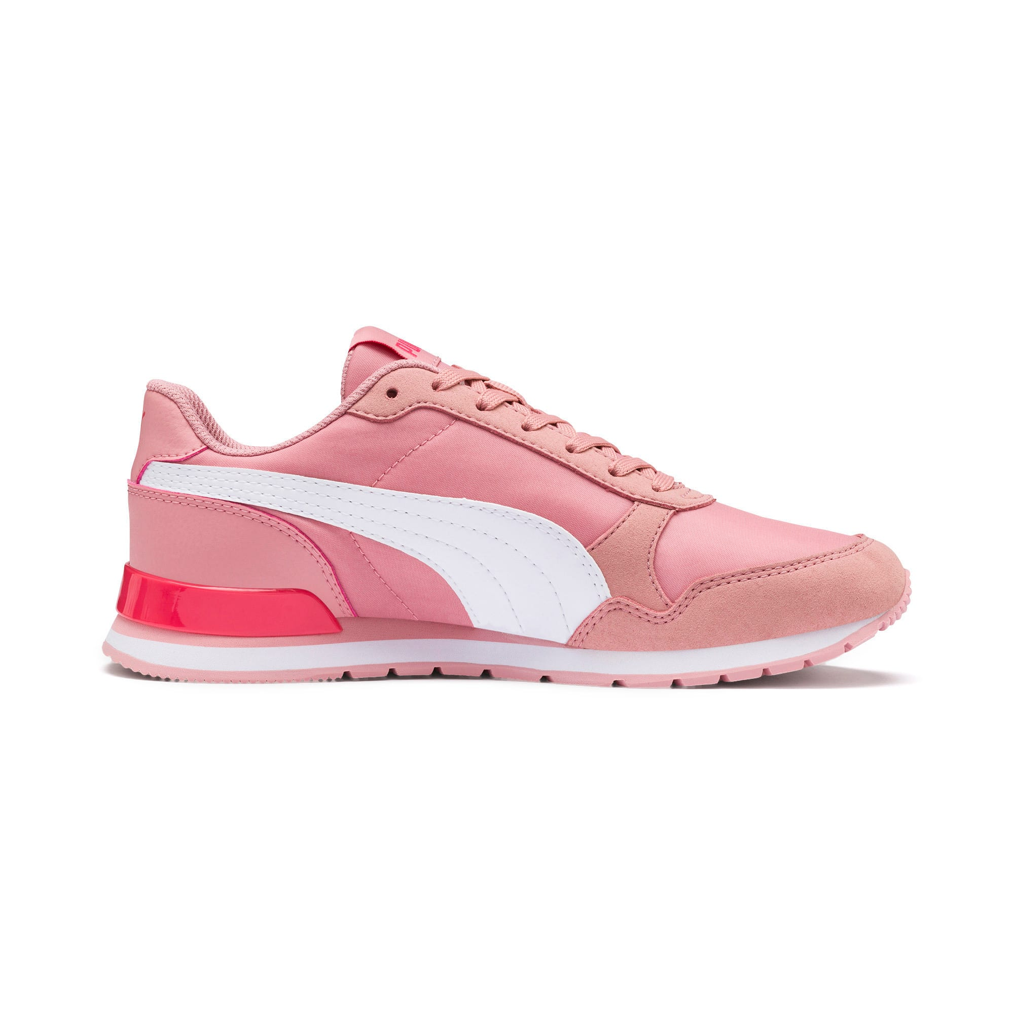 Thumbnail 5 of ST Runner v2 NL Sneakers JR, Bridal Rose-Puma White, medium
