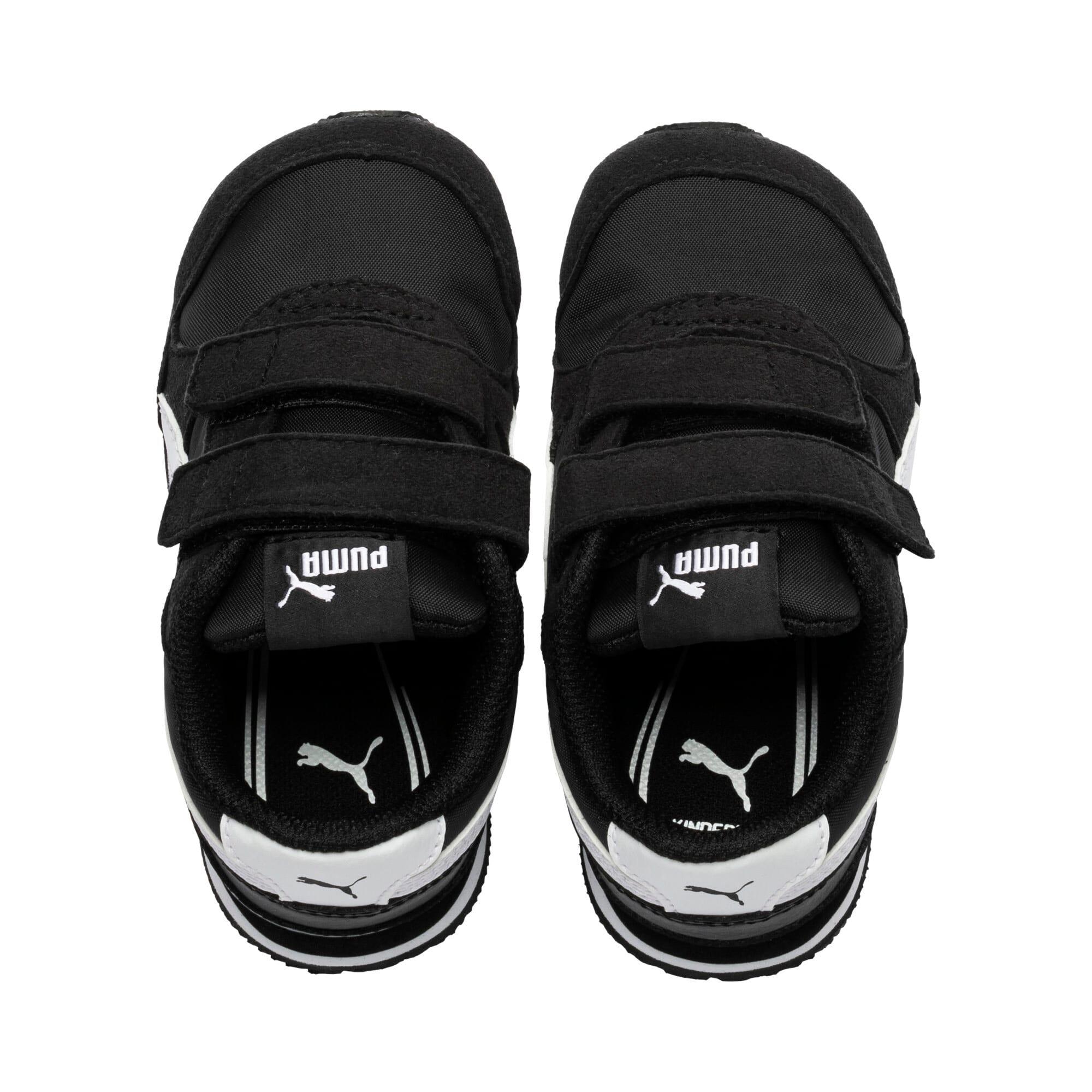 Thumbnail 6 of ST Runner v2 Little Kids' Shoes, Puma Black-Puma White, medium
