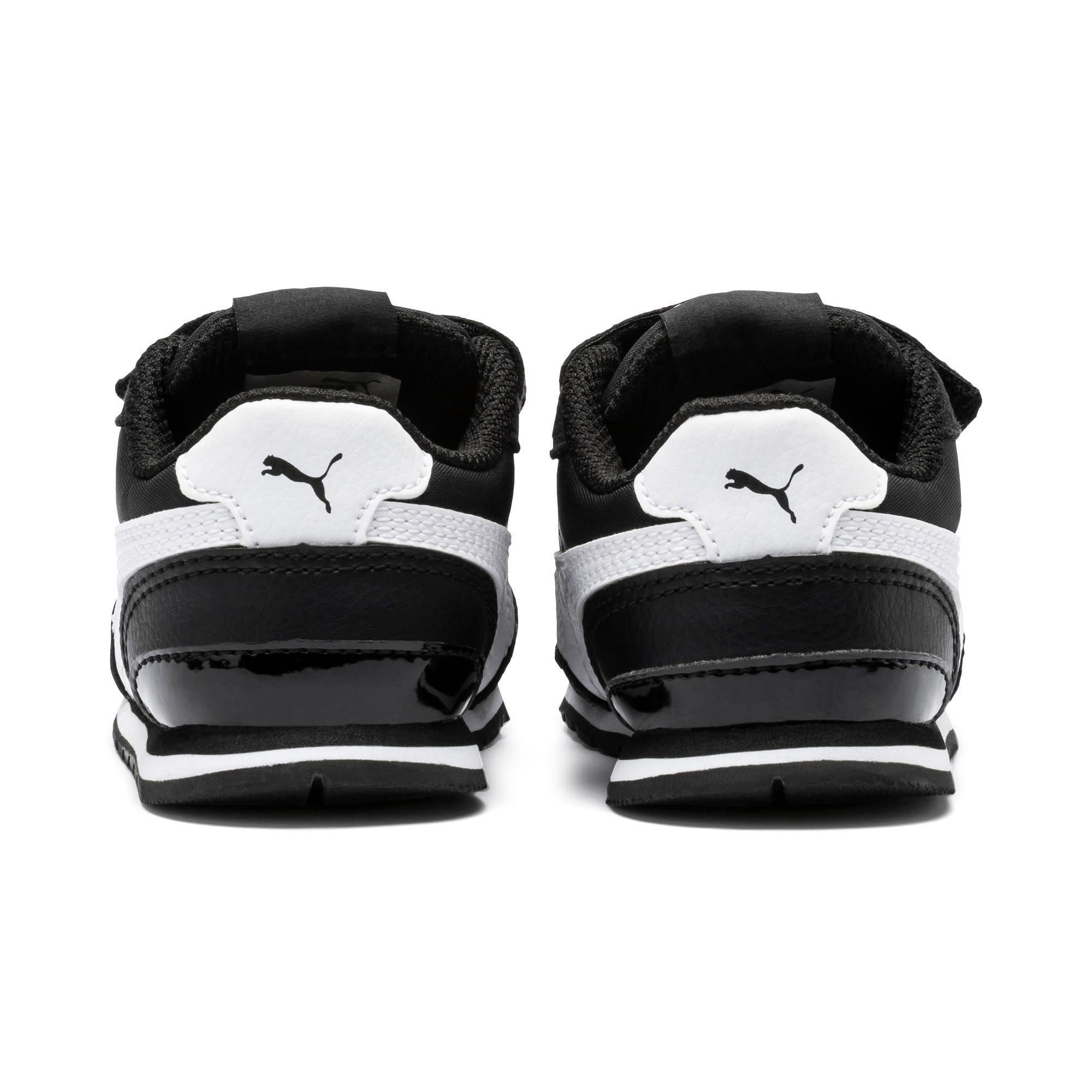 Thumbnail 3 of ST Runner V2 V Toddler Shoes, Puma Black-Puma White, medium
