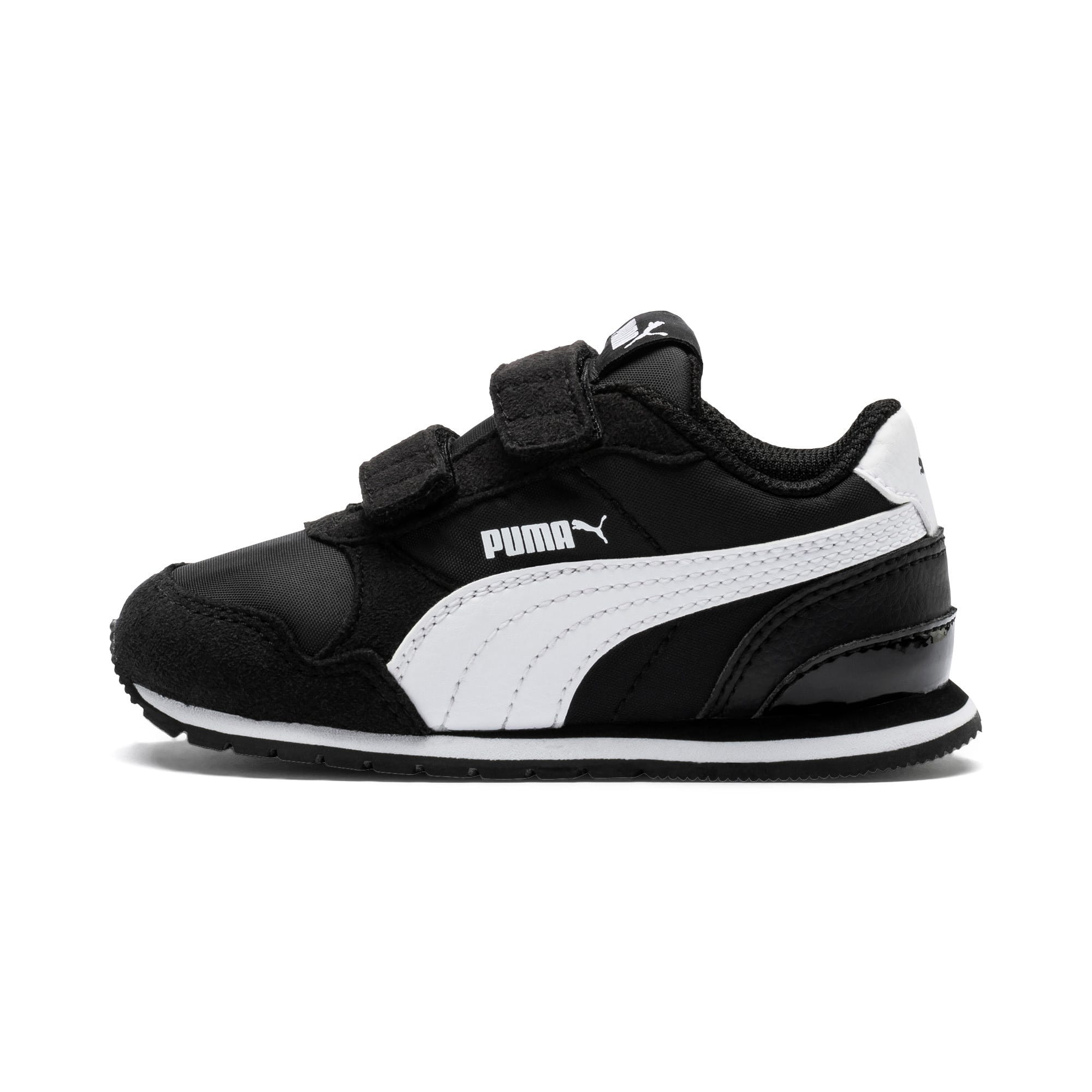 Thumbnail 1 of ST Runner V2 V Toddler Shoes, Puma Black-Puma White, medium