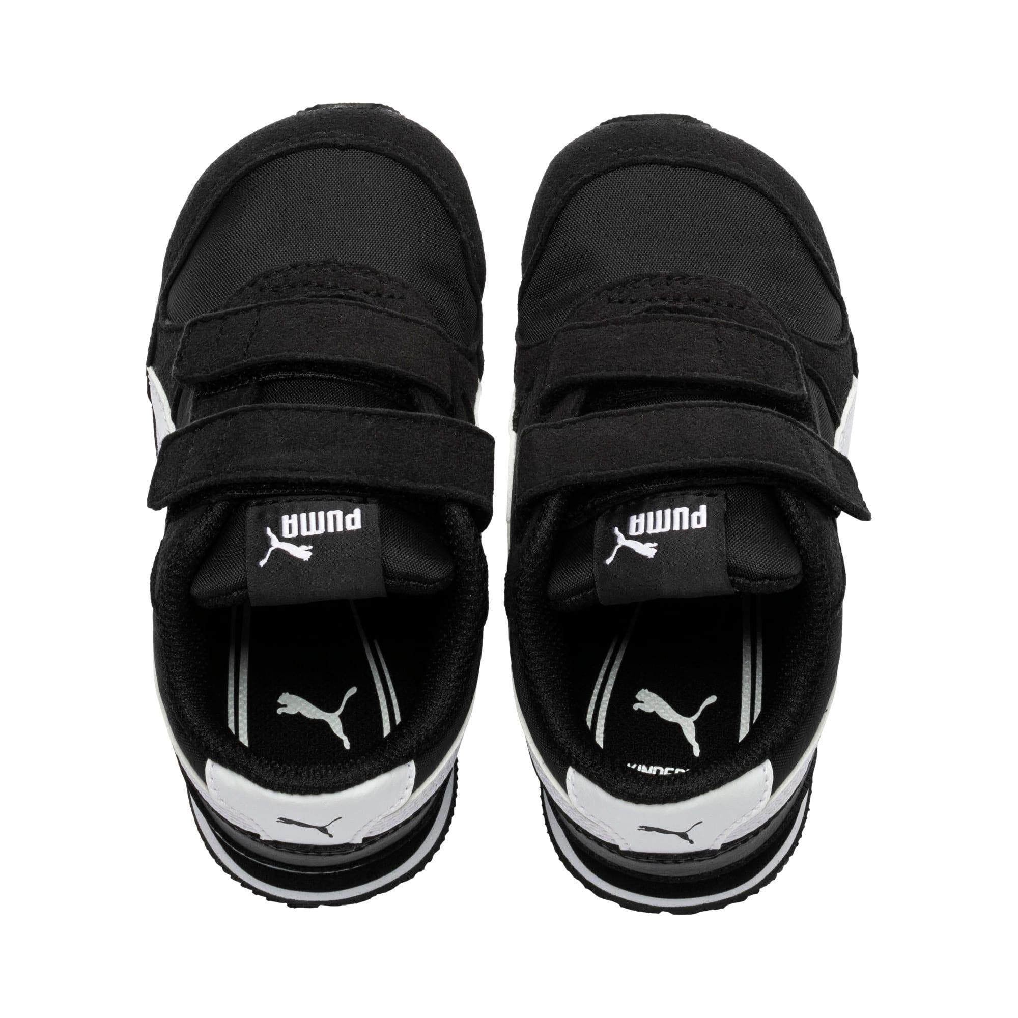 Thumbnail 6 of ST Runner V2 V Toddler Shoes, Puma Black-Puma White, medium