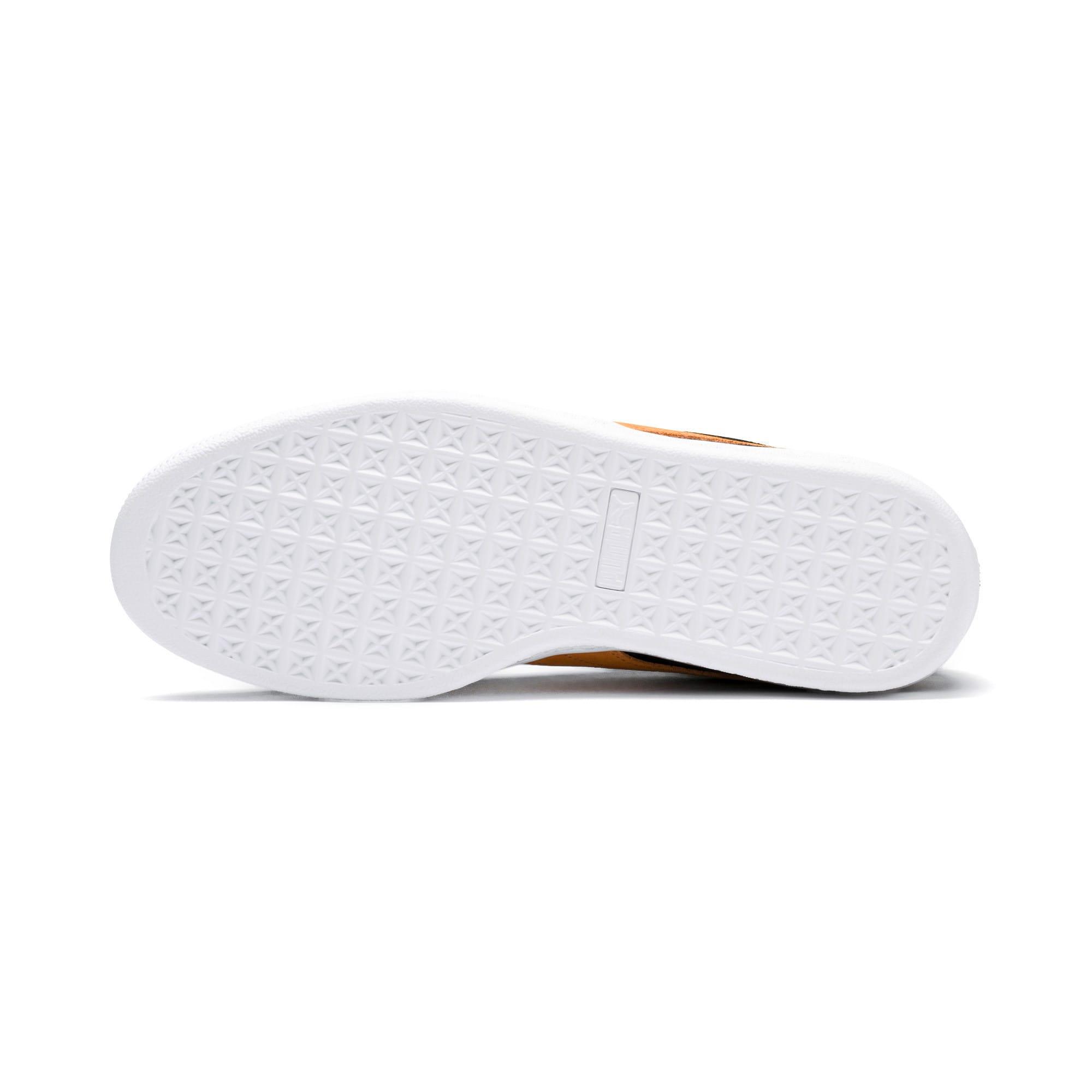 Imagen en miniatura 5 de Zapatillas Suede Classic, Puma Black-Orange Pop, mediana