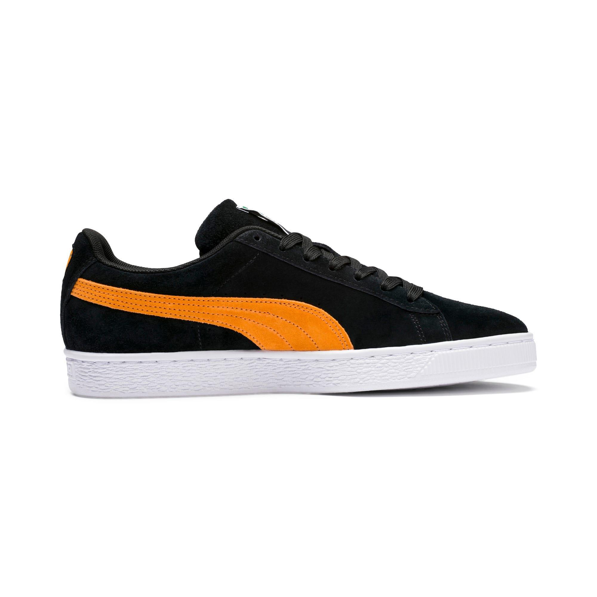 Imagen en miniatura 6 de Zapatillas Suede Classic, Puma Black-Orange Pop, mediana