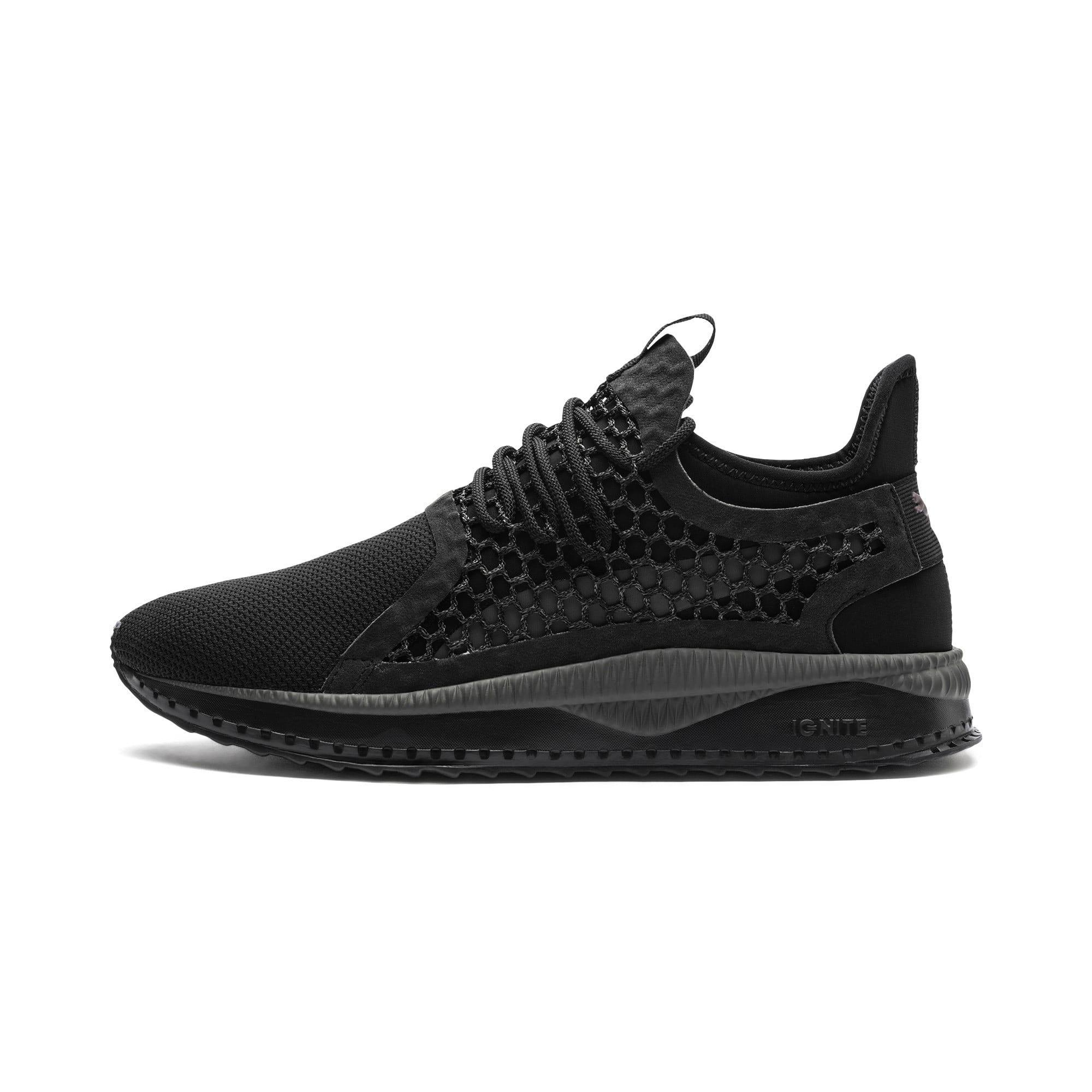 PUMA Tsugi Netfit V2 Black & White Shoes