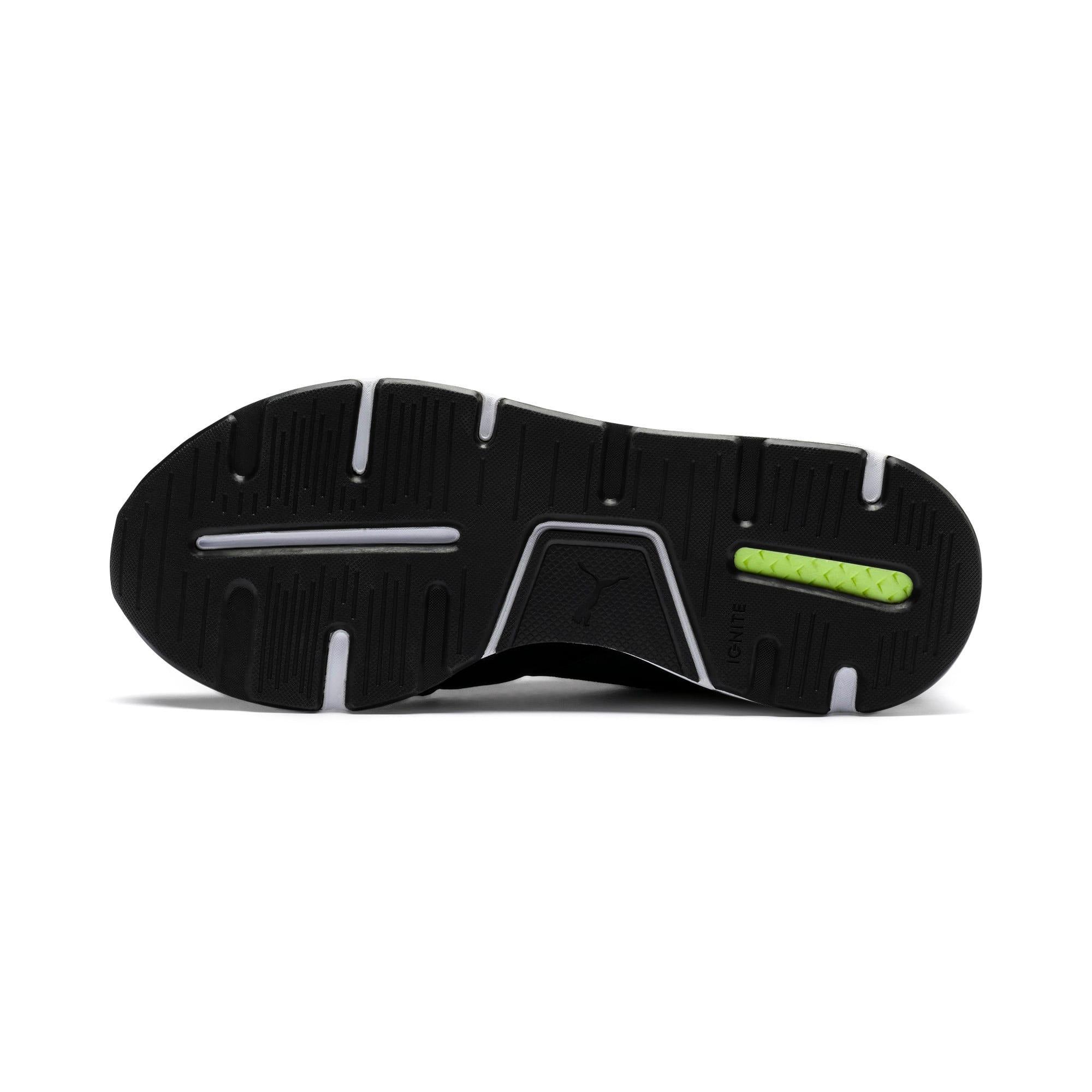 Thumbnail 4 of En Pointe Muse Satin Women's Sneakers, Puma Black-Puma White, medium