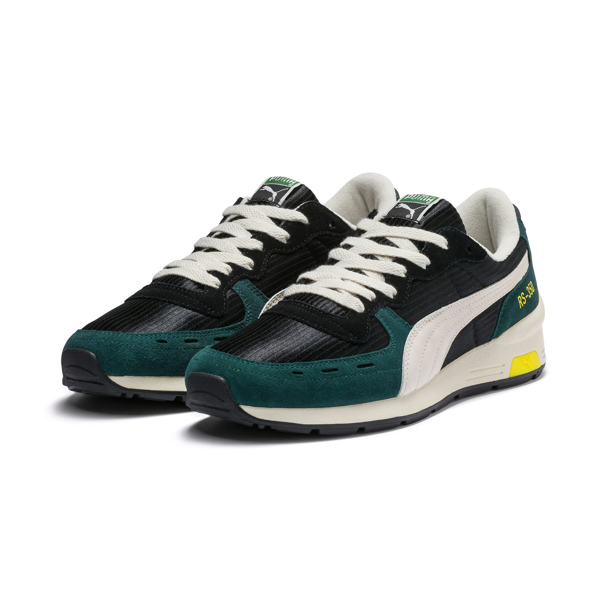 Thumbnail 3 of RS-350 OG Men's Sneakers, Puma Black-Ponderosa Pine, medium
