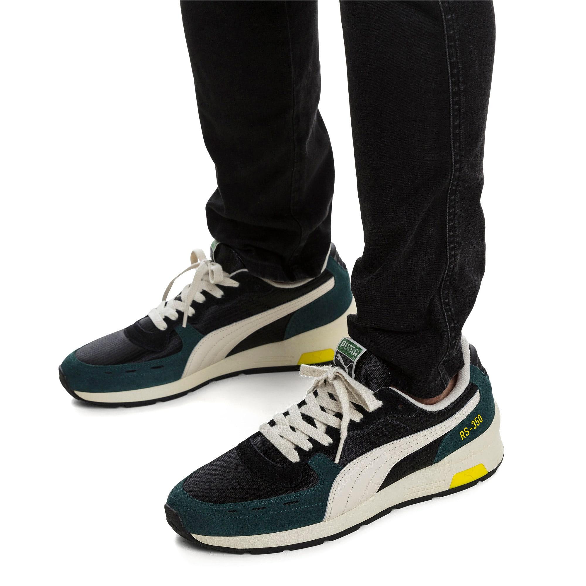 Thumbnail 2 of RS-350 OG Men's Sneakers, Puma Black-Ponderosa Pine, medium