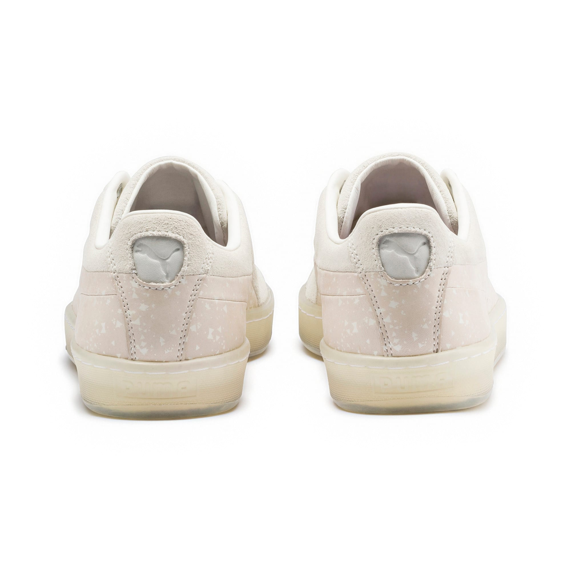 Thumbnail 4 of PUMA x NATUREL Suede Sneakers, Whisper White-Almond, medium