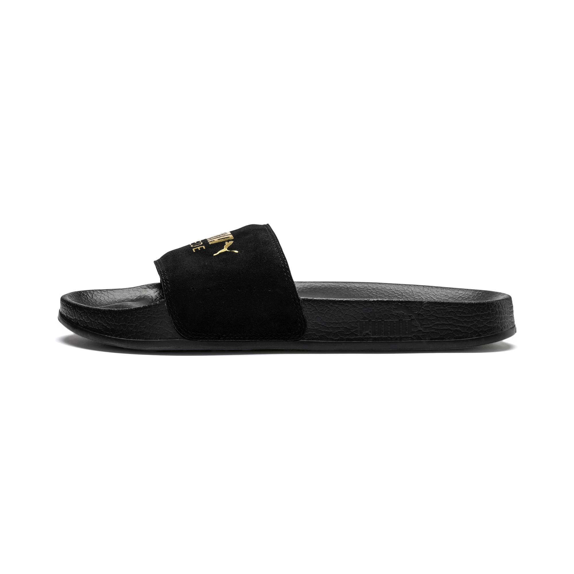 Thumbnail 1 of Suede Leadcat, Puma Black-Puma Team Gold, medium