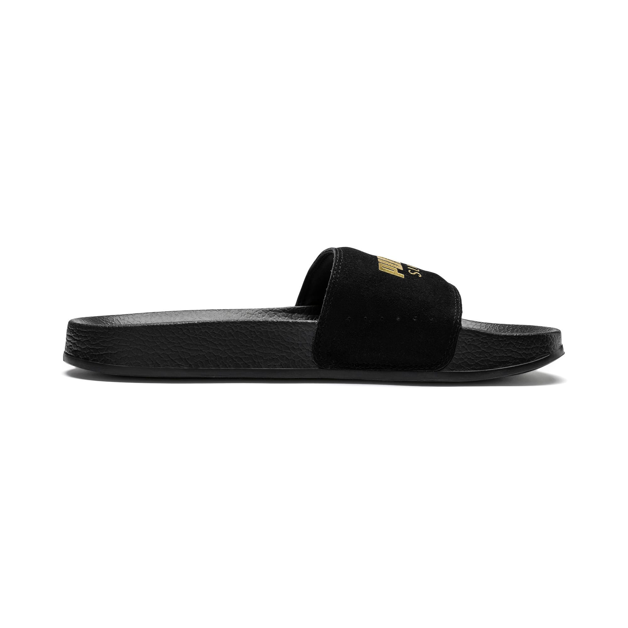 Thumbnail 5 of Suede Leadcat, Puma Black-Puma Team Gold, medium