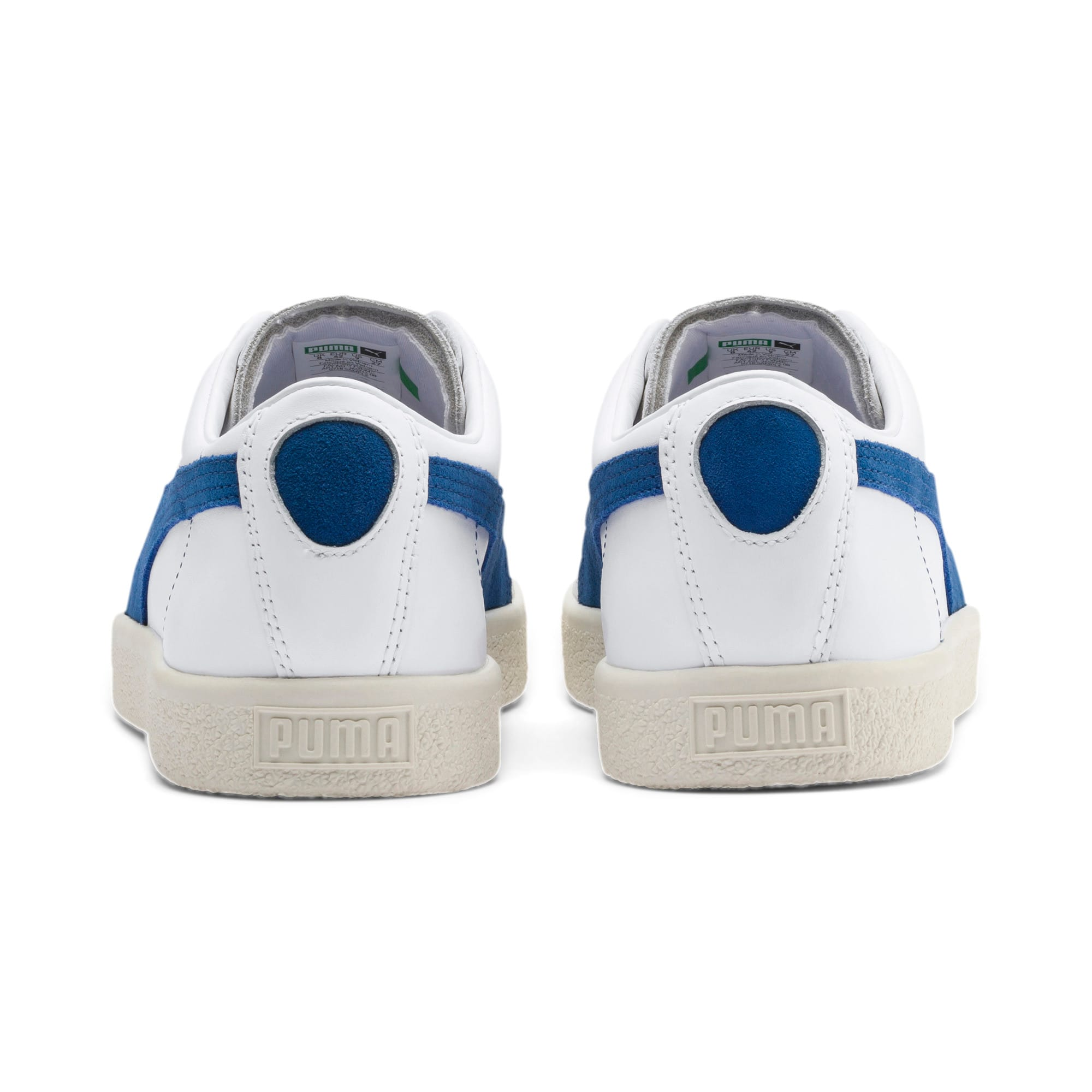 Thumbnail 4 of Basket 90680 Sneakers, Puma White-Galaxy Blue-Whisp, medium