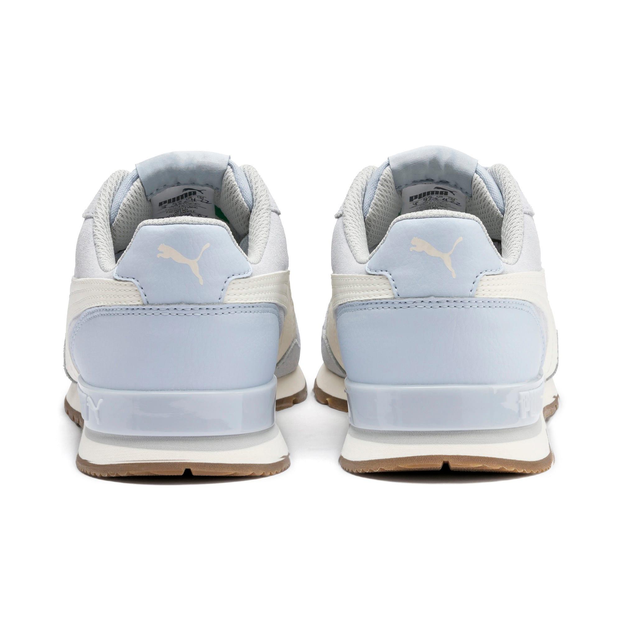 Thumbnail 3 of ST Runner v2 Suede Sneakers JR, Heather-Whisper White, medium