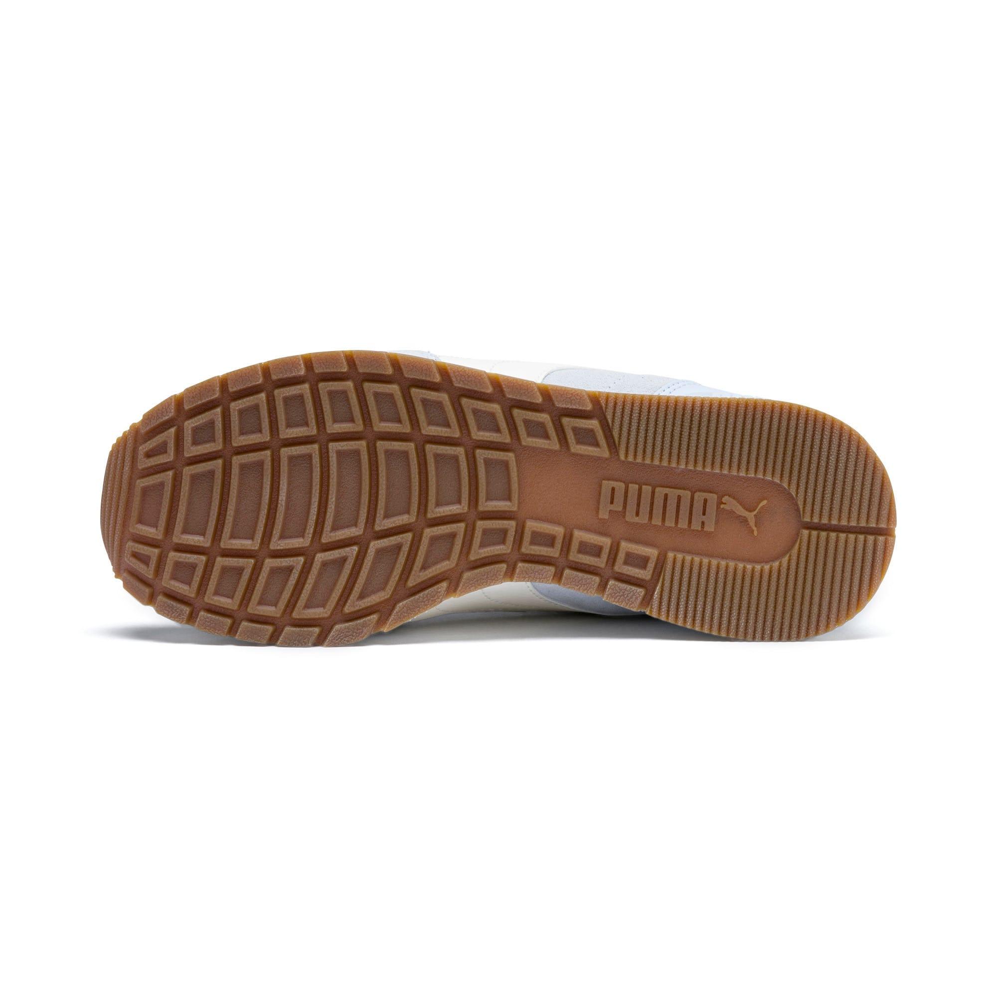 Thumbnail 4 of ST Runner v2 Suede Sneakers JR, Heather-Whisper White, medium
