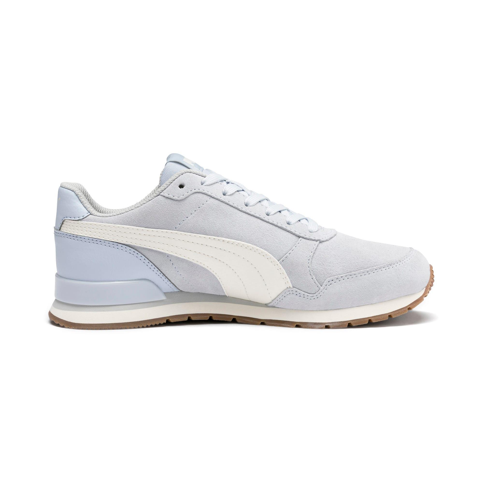 Thumbnail 5 of ST Runner v2 Suede Sneakers JR, Heather-Whisper White, medium