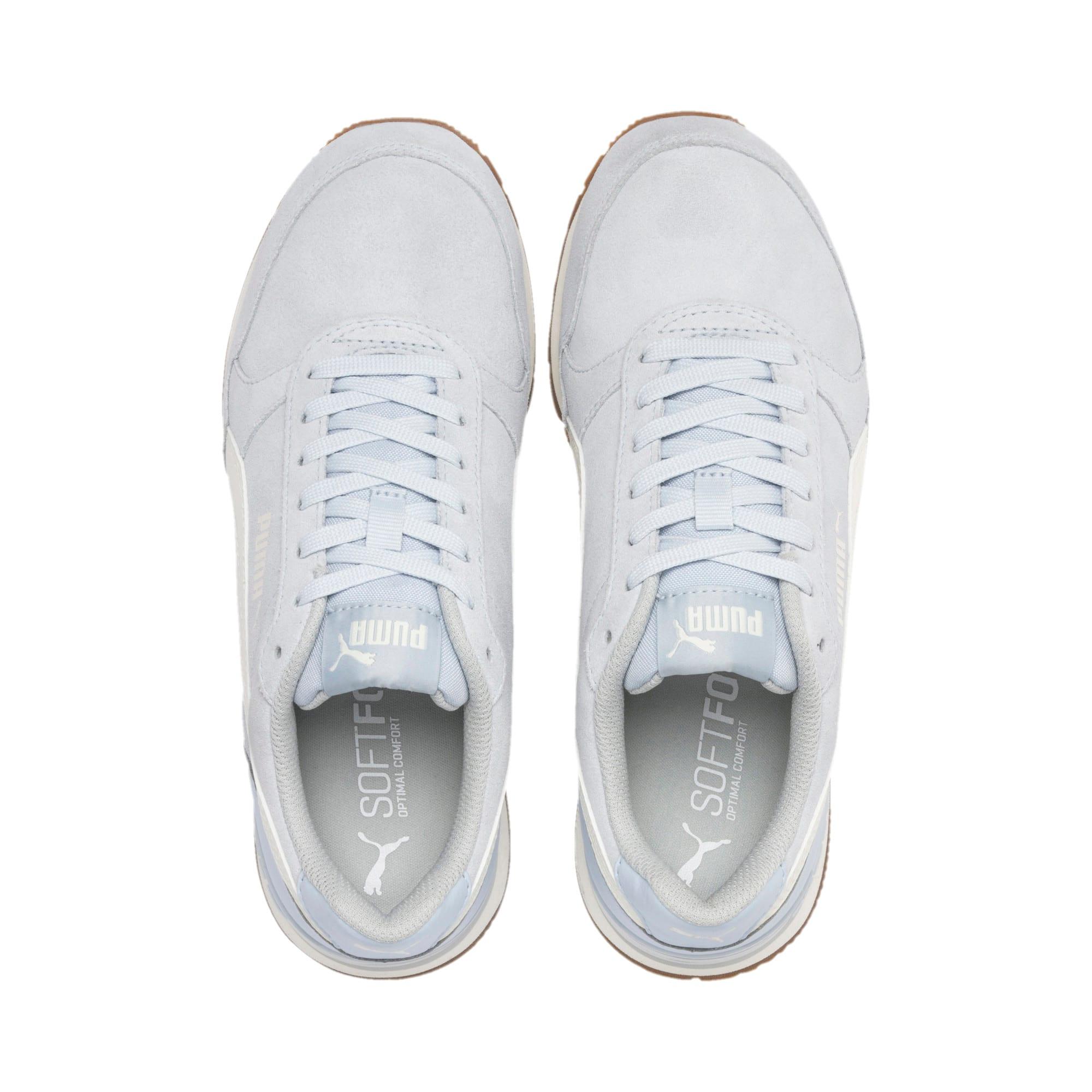 Thumbnail 6 of ST Runner v2 Suede Sneakers JR, Heather-Whisper White, medium