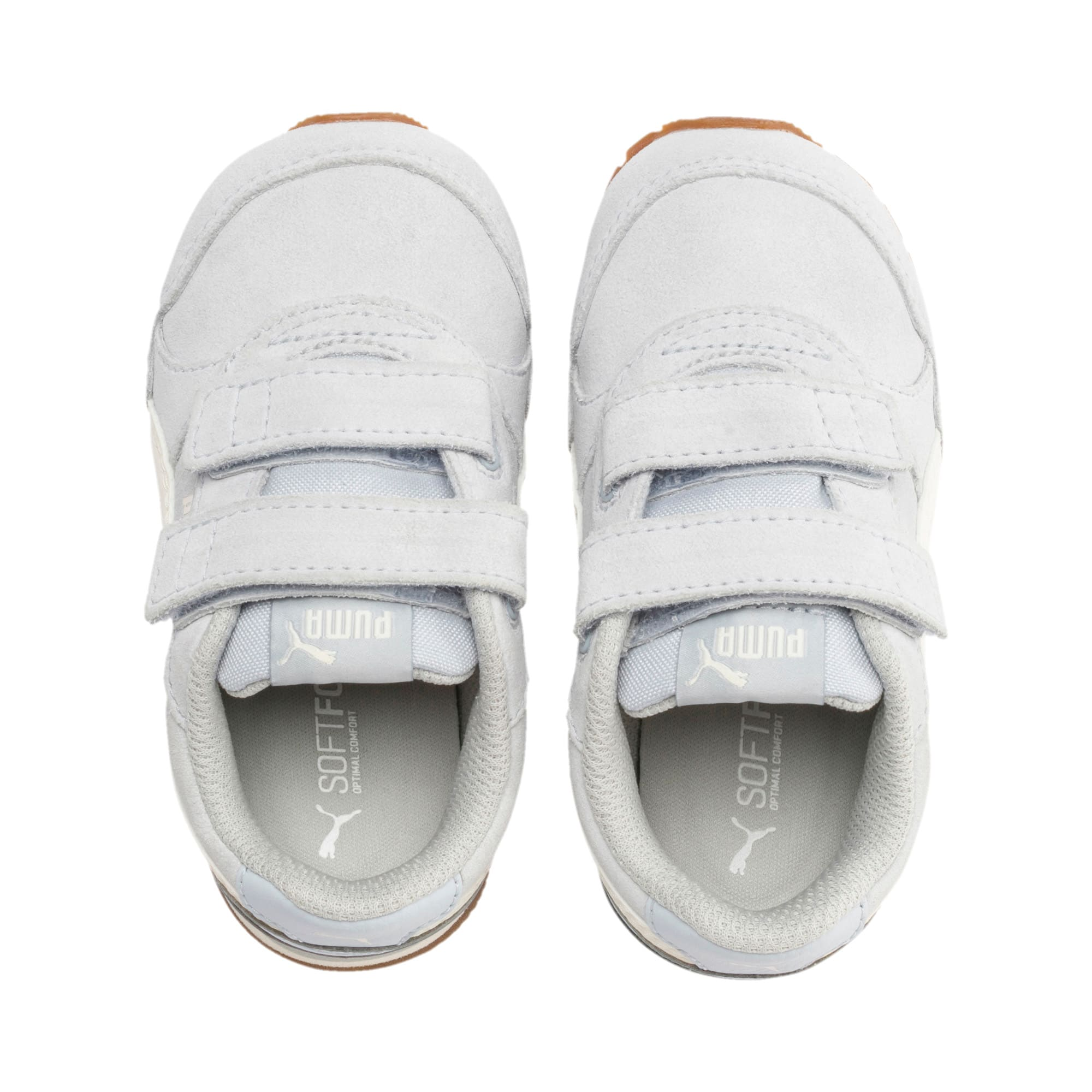 ST Runner v2 Suede Toddler Shoes, Heather-Whisper White, large