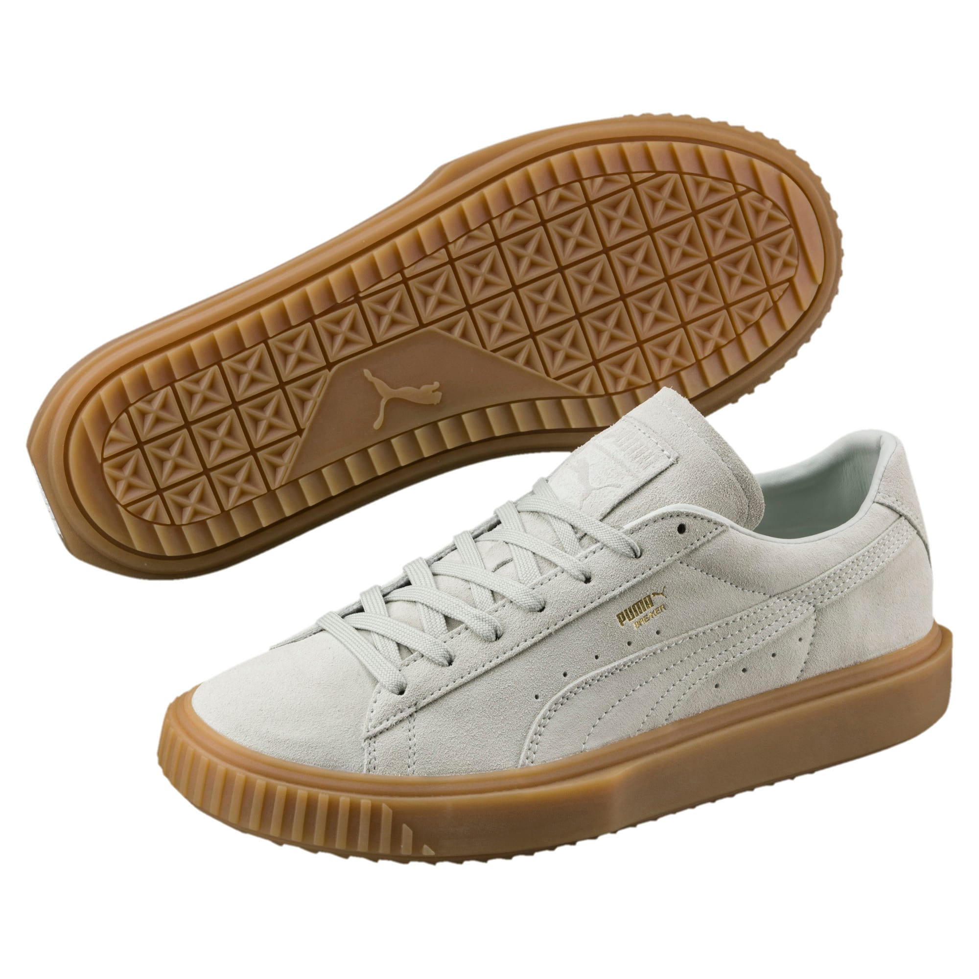cheap for discount 15aa4 5e851 Breaker Suede Gum Trainers