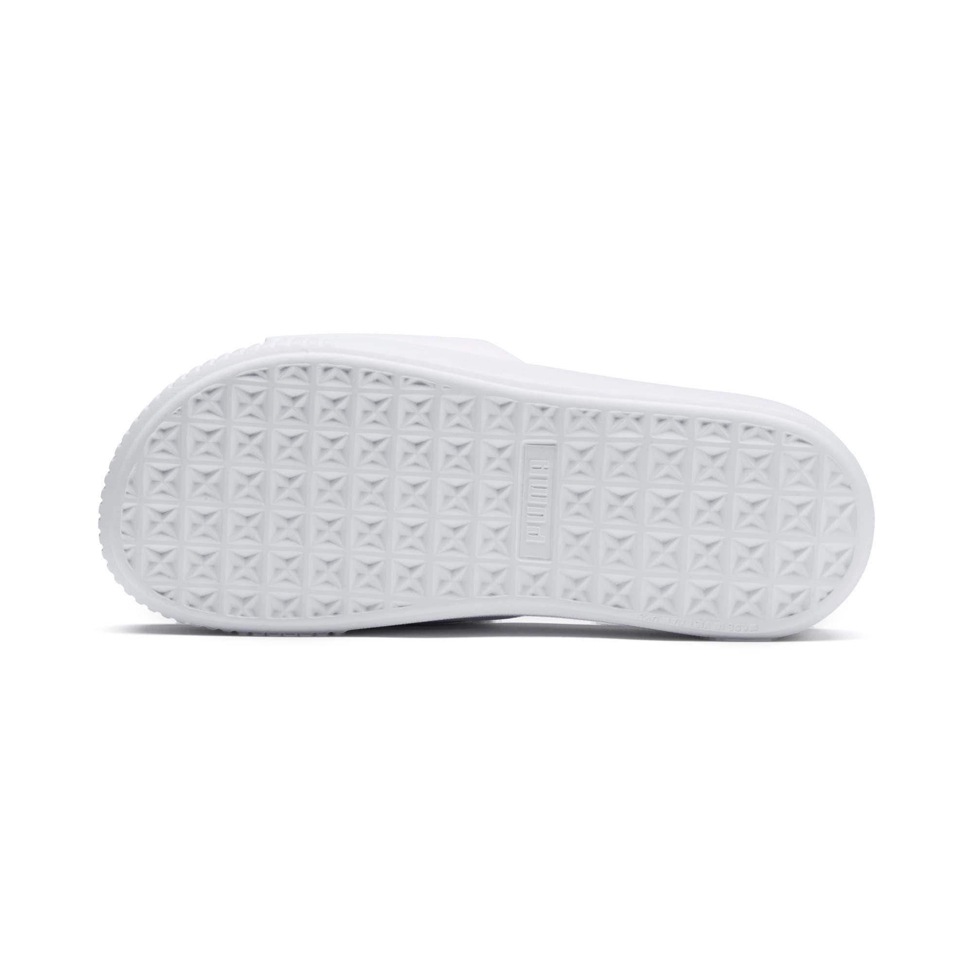 Miniatura 4 de Sandalias con plataforma Slide para mujer, Puma White-Puma White, mediano