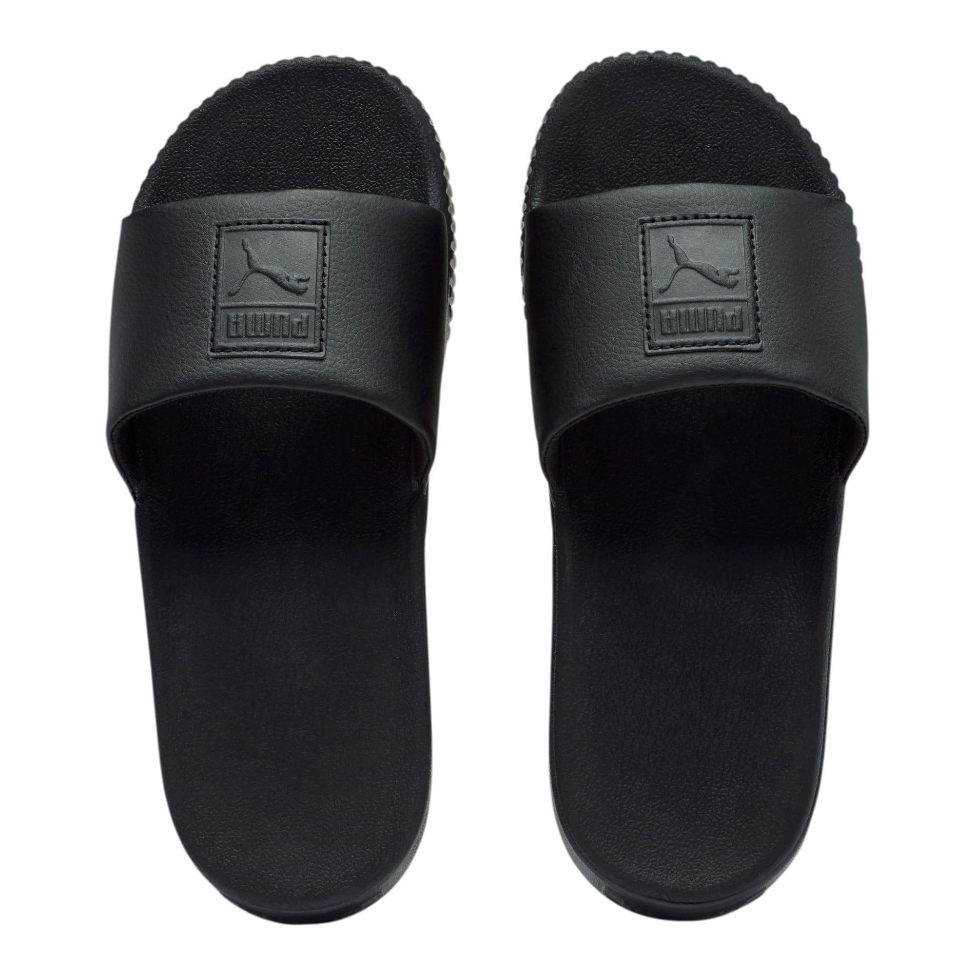 Thumbnail 6 of Platform Slide Women's Sandals, Puma Black-Puma Black, medium