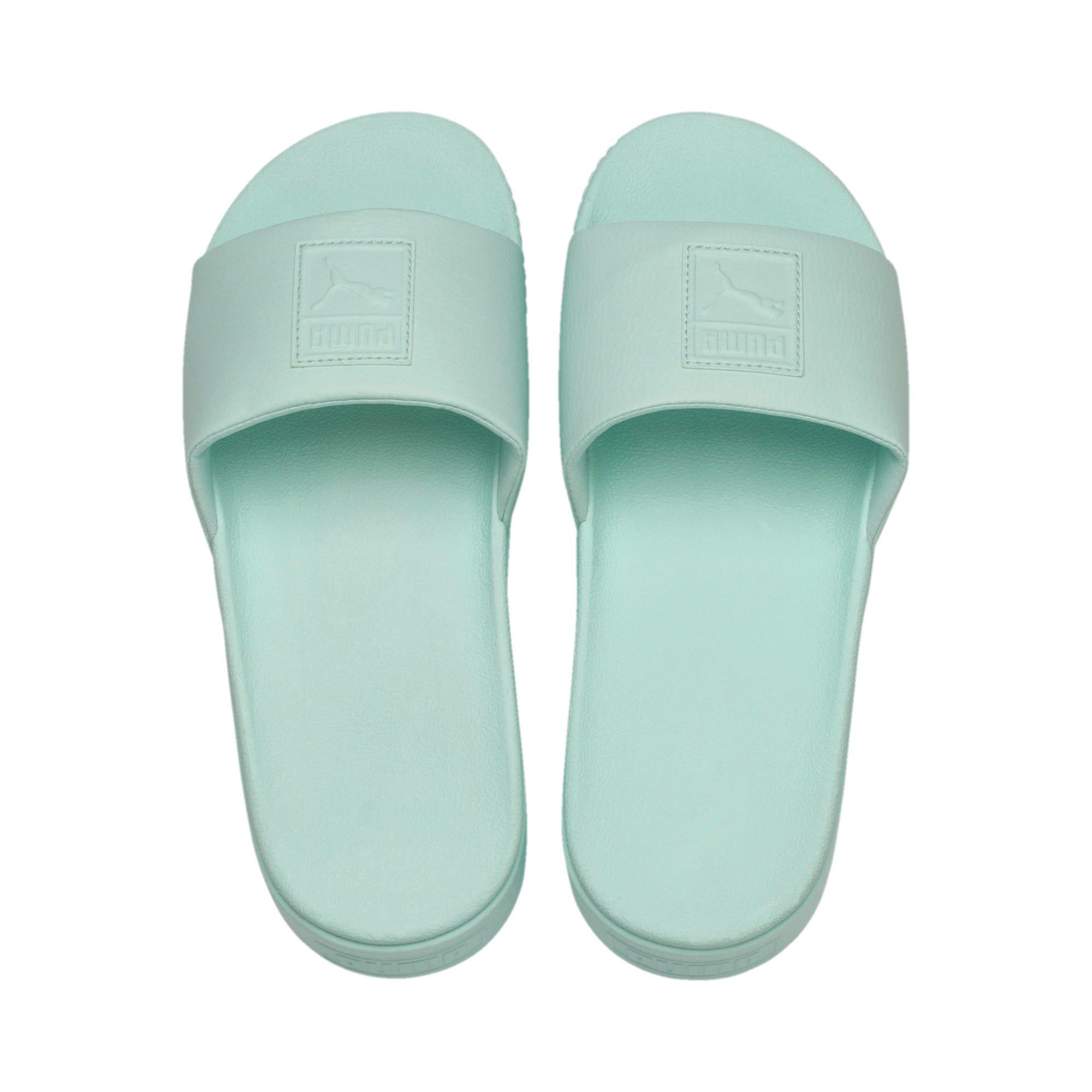 Thumbnail 6 of Platform Slide Women's Sandals, Fair Aqua-Fair Aqua, medium