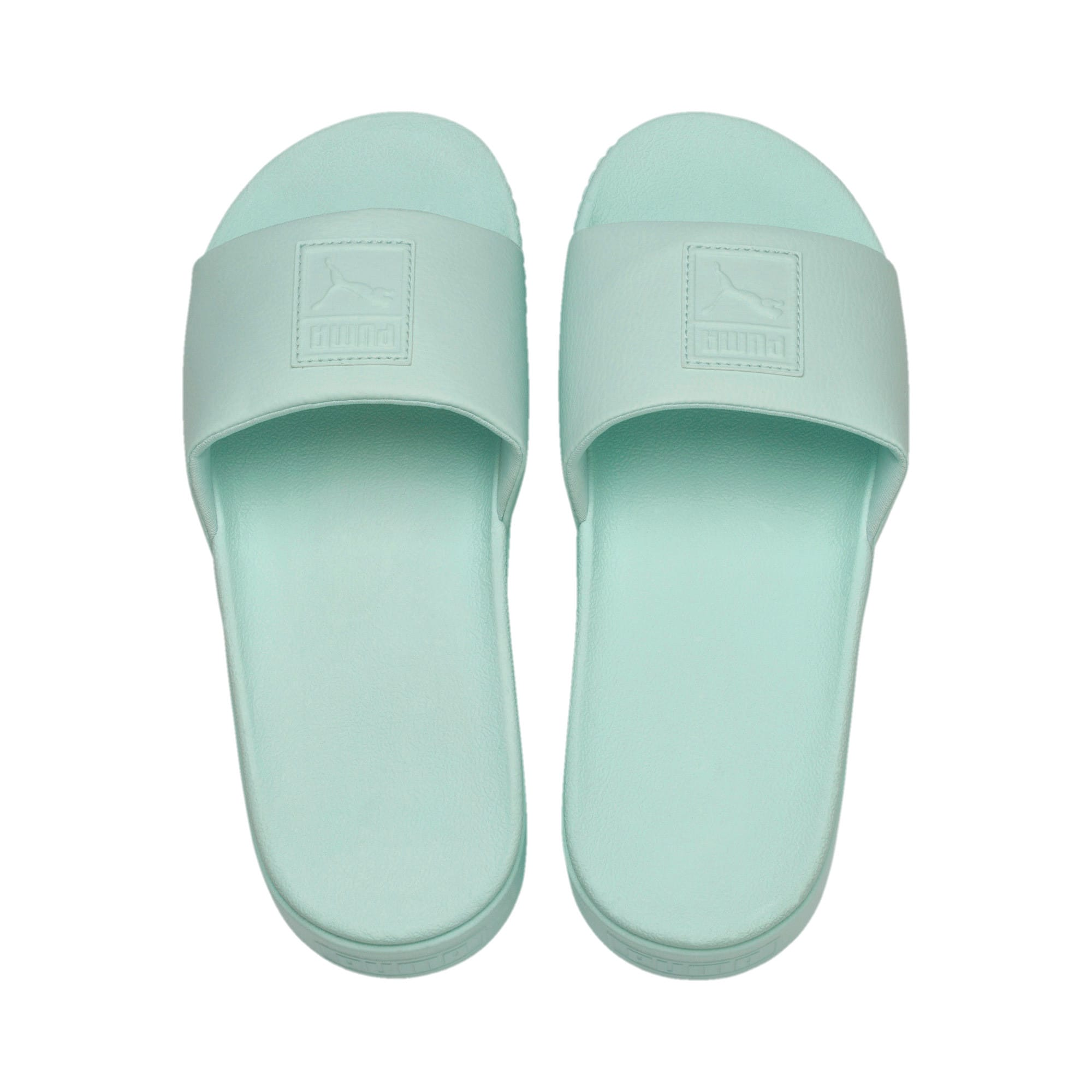Thumbnail 6 of Platform Slide Women's Sandals, Fair Aqua-Fair Aqua, medium