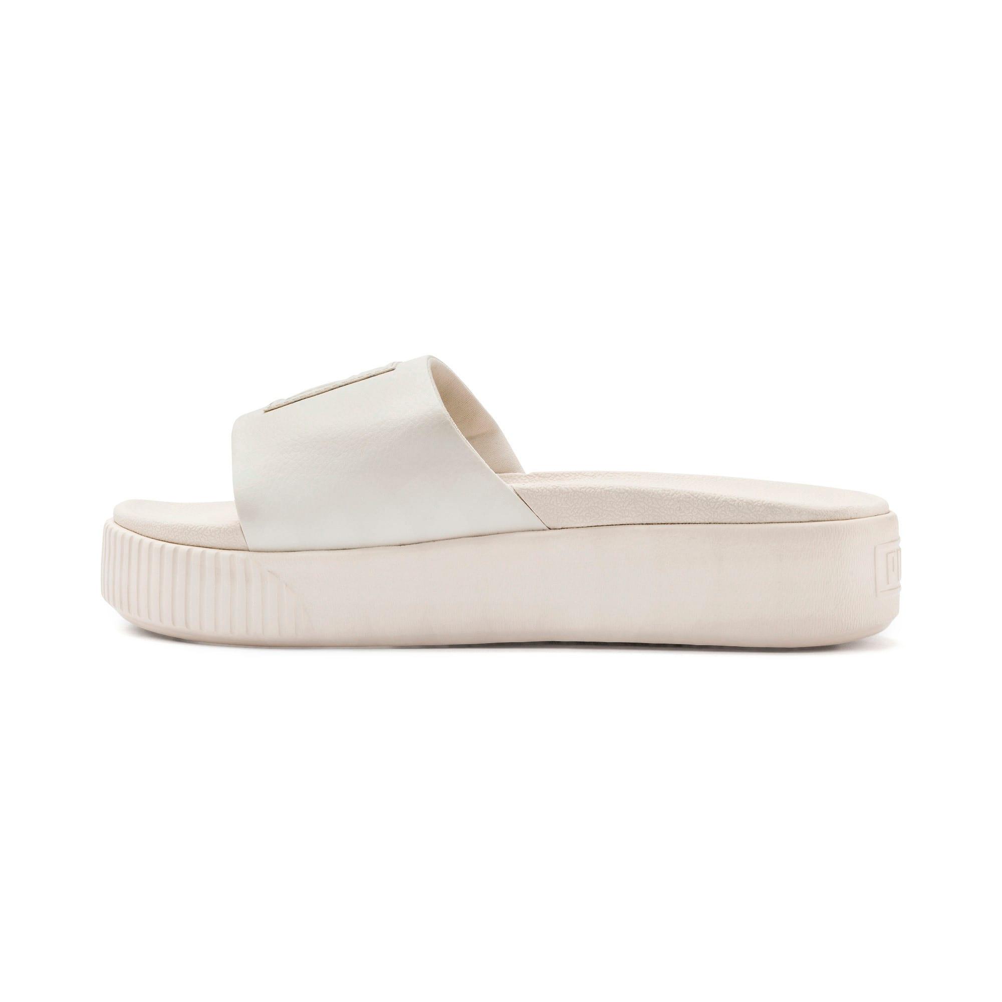 Thumbnail 1 of Platform Slide Women's Sandals, Pastel Parchment-Pastel Par., medium
