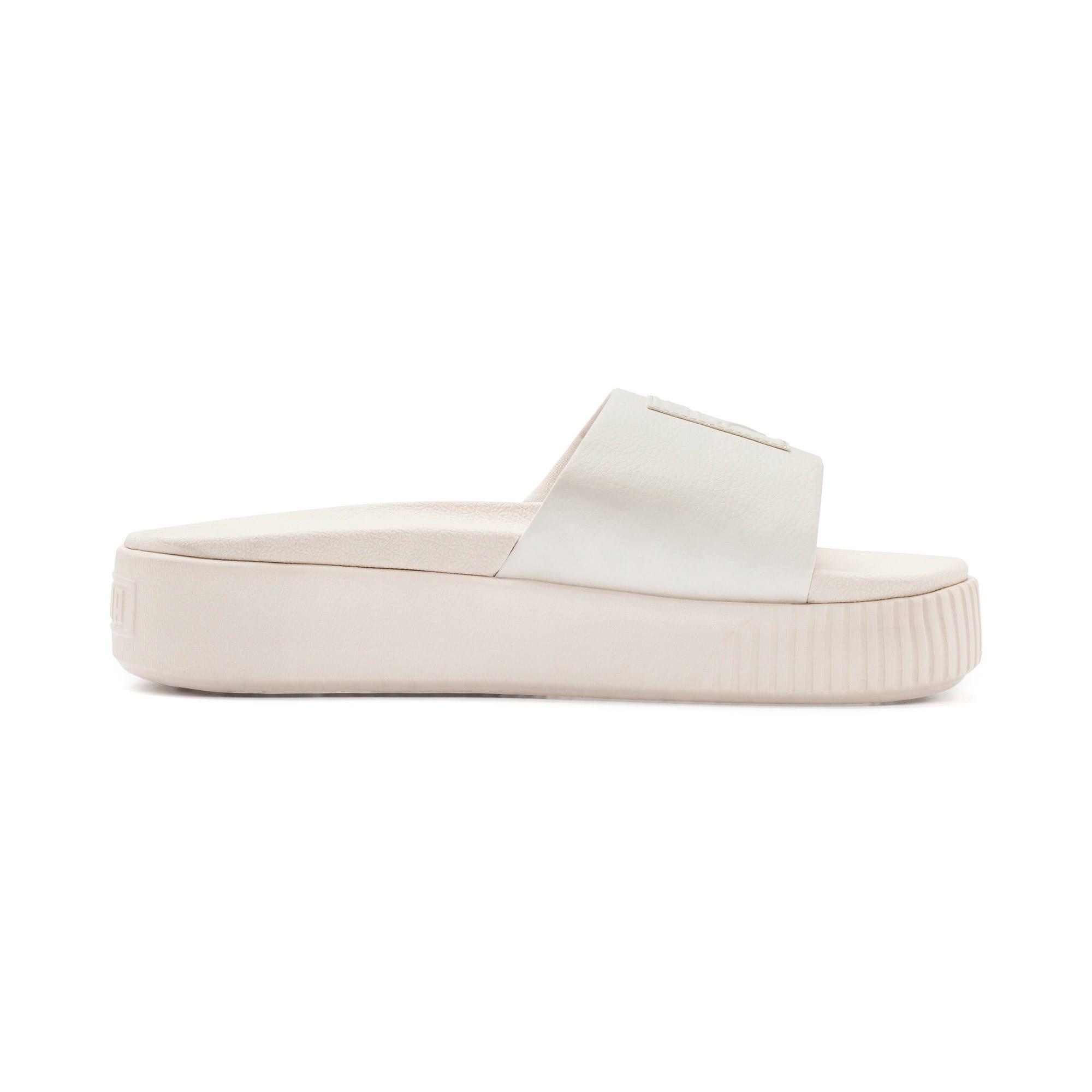 Thumbnail 5 of Platform Slide Women's Sandals, Pastel Parchment-Pastel Par., medium