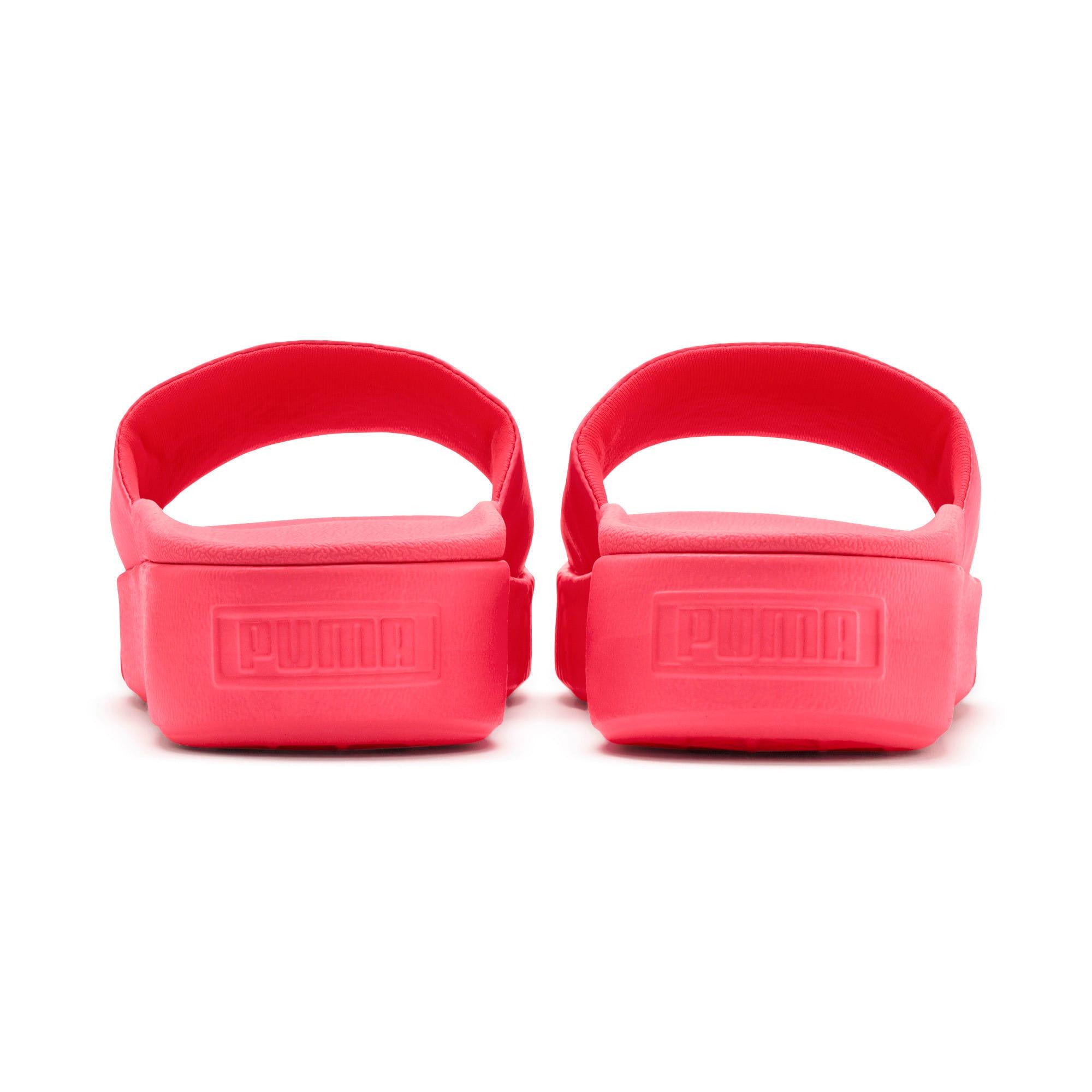 Thumbnail 3 of Platform Slide Women's Sandals, Pink Alert-Pink Alert, medium