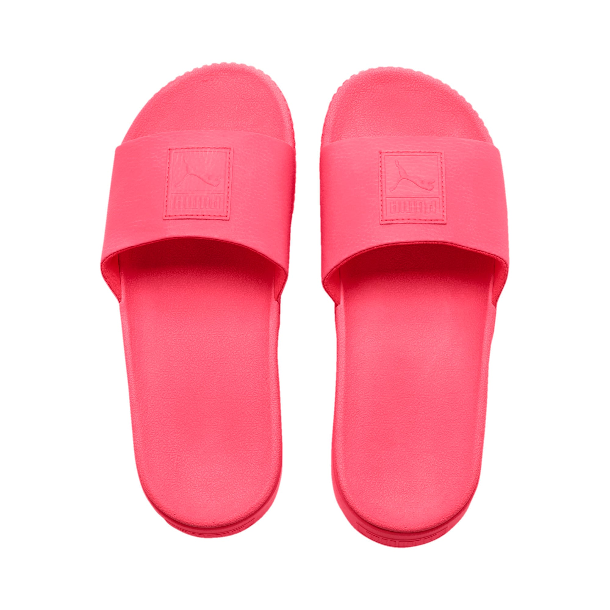 Thumbnail 6 of Platform Slide Women's Sandals, Pink Alert-Pink Alert, medium