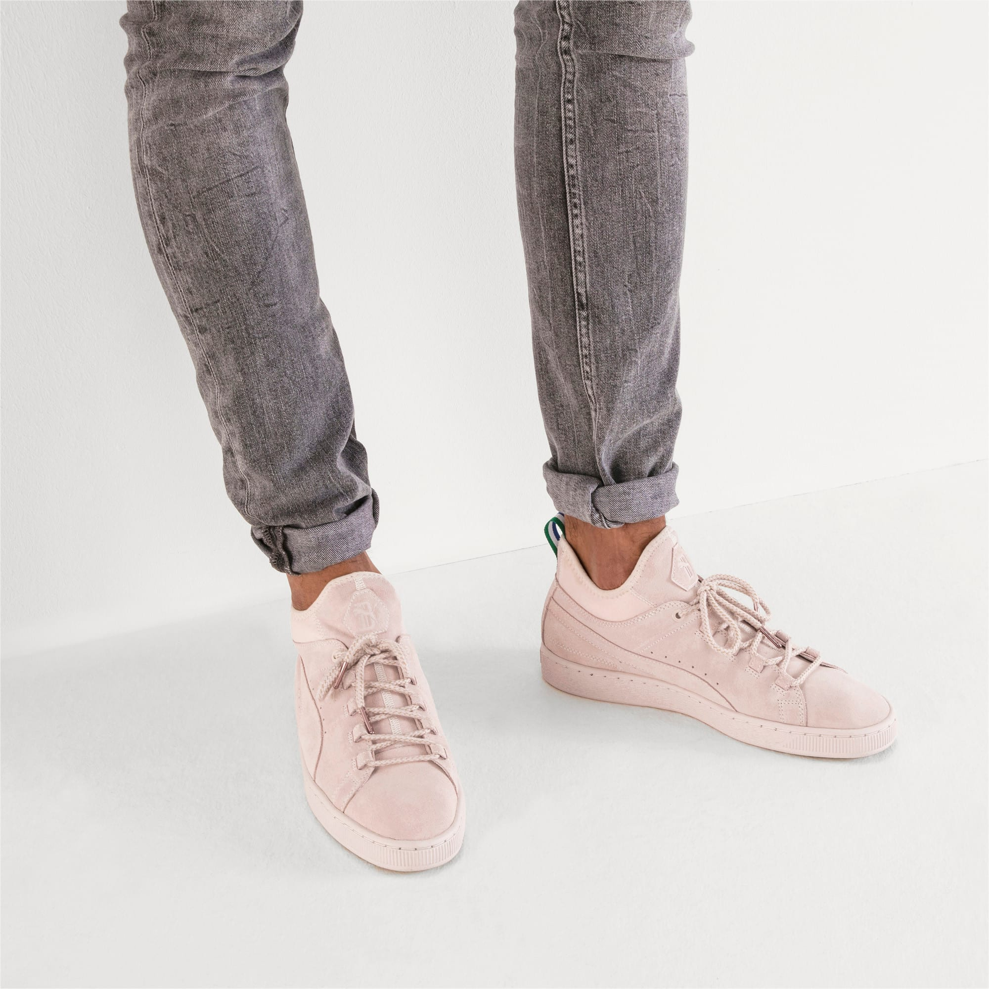 purchase cheap d69d6 4c45e PUMA x BIG SEAN Suede Mid Sneakers