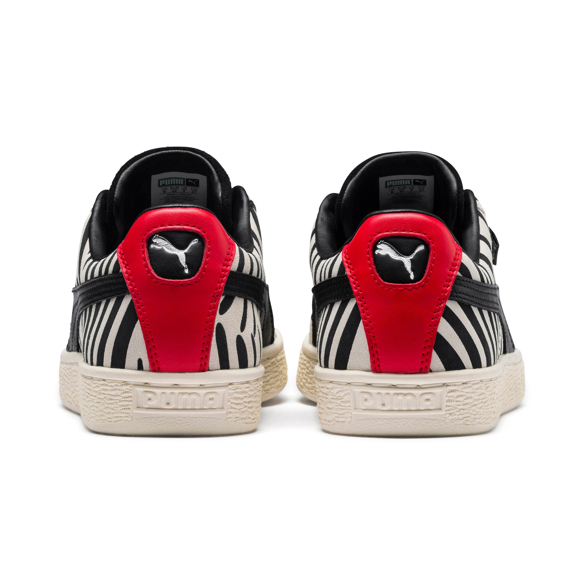Thumbnail 4 of PUMA x Paul Stanley Suede Men's Sneakers, Puma White-Puma Black, medium