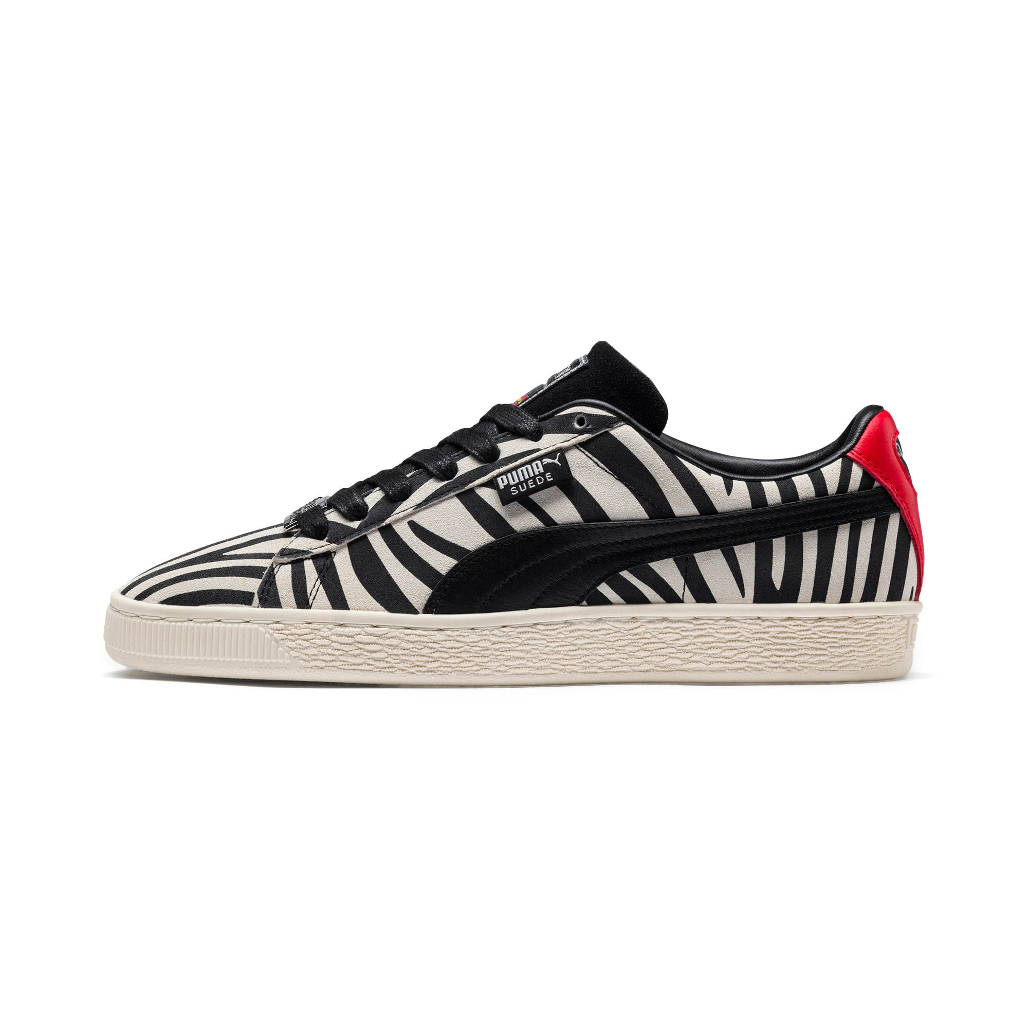 Thumbnail 1 of PUMA x Paul Stanley Suede Men's Sneakers, Puma White-Puma Black, medium