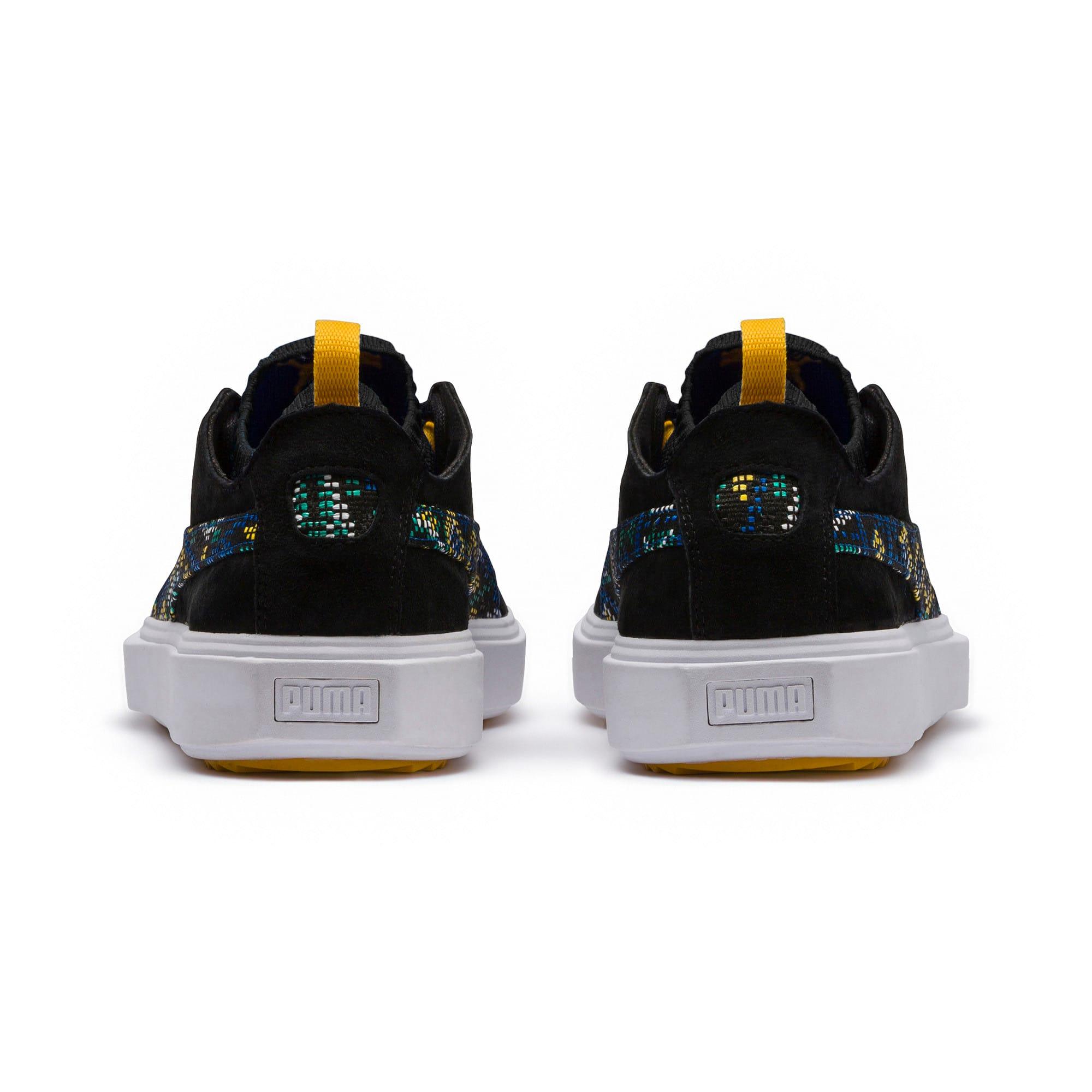 Thumbnail 4 of Breaker Knit Carnival Sneakers, Puma Black, medium