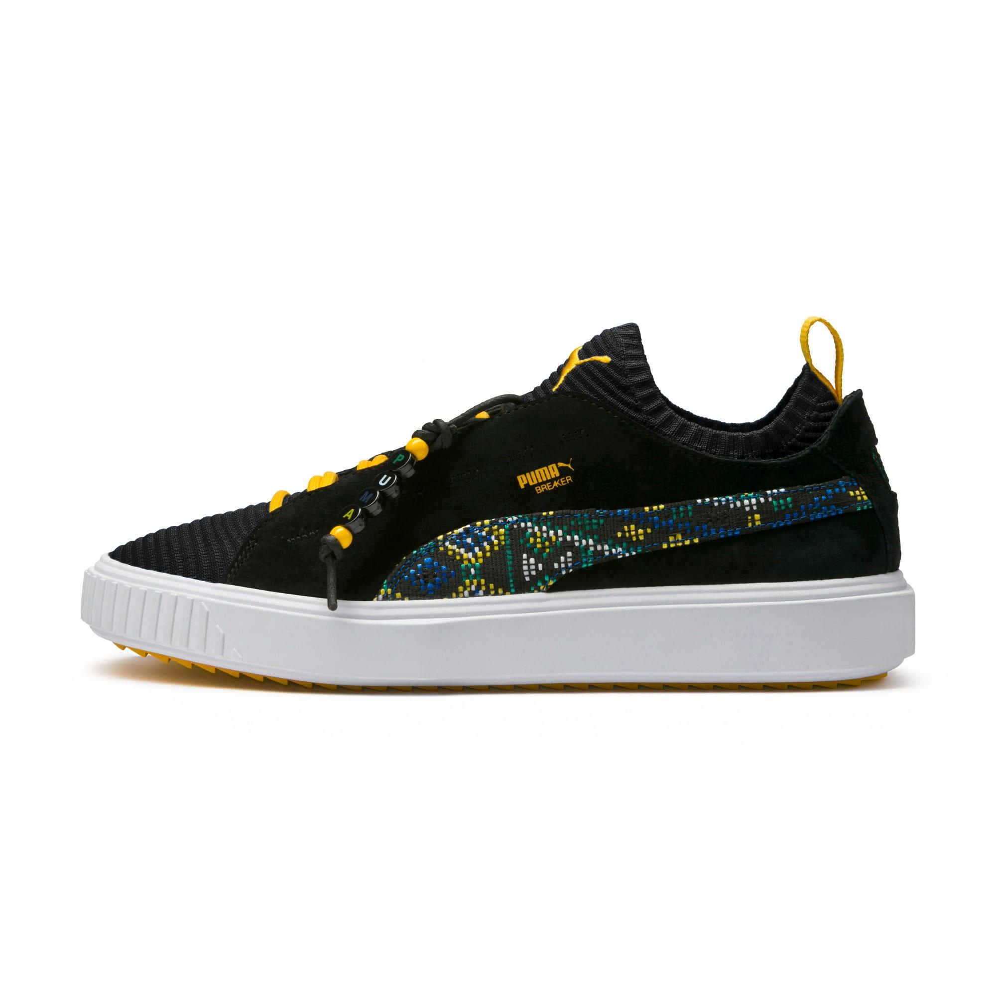 Thumbnail 6 of Breaker Knit Carnival Sneakers, Puma Black, medium