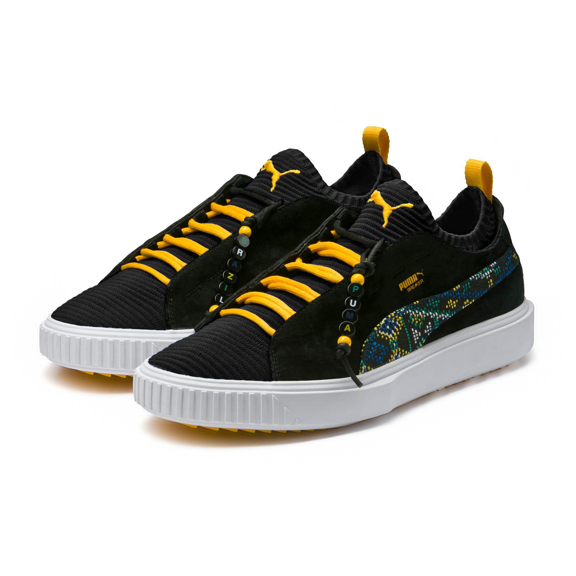 Thumbnail 2 of Breaker Knit Carnival Sneakers, Puma Black, medium