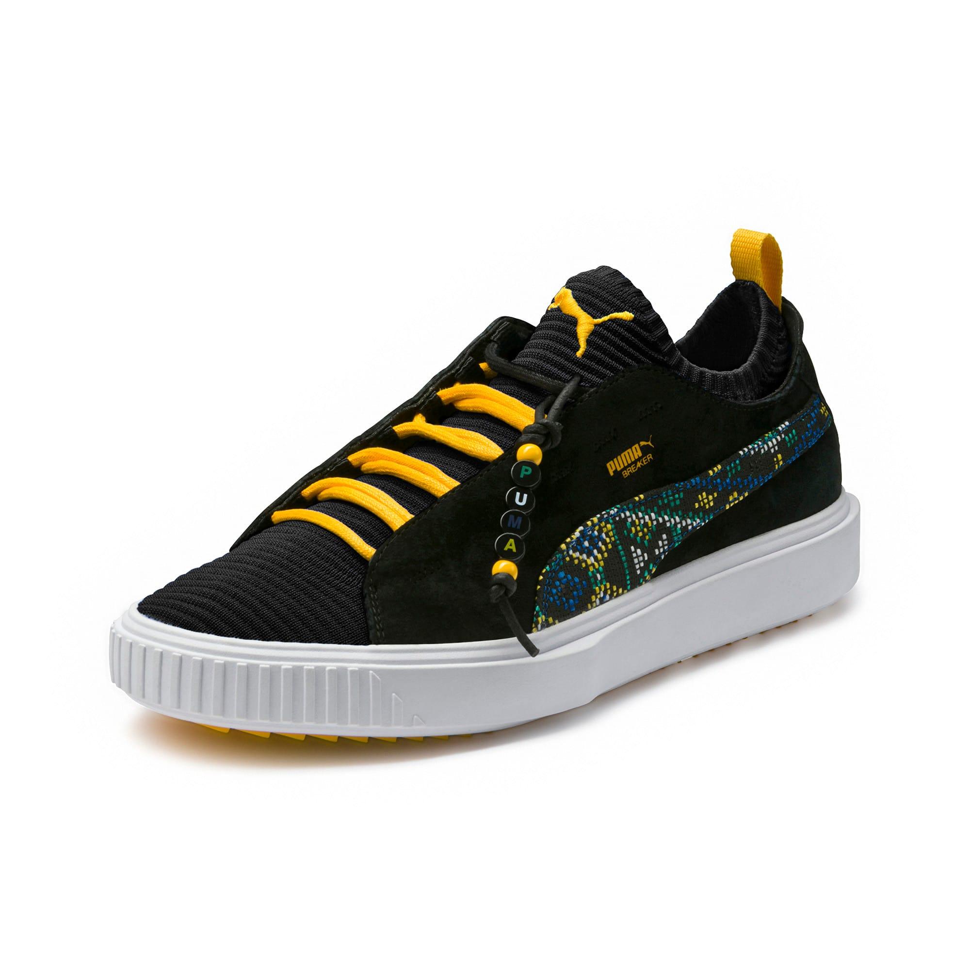 Thumbnail 1 of Breaker Knit Carnival Sneakers, Puma Black, medium