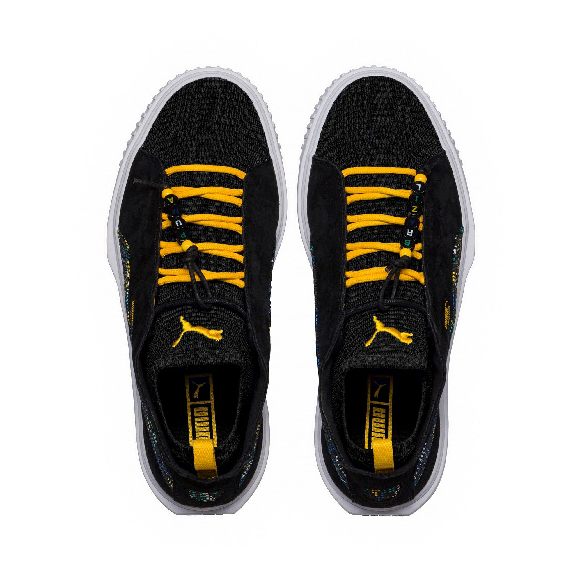 Thumbnail 5 of Breaker Knit Carnival Sneakers, Puma Black, medium