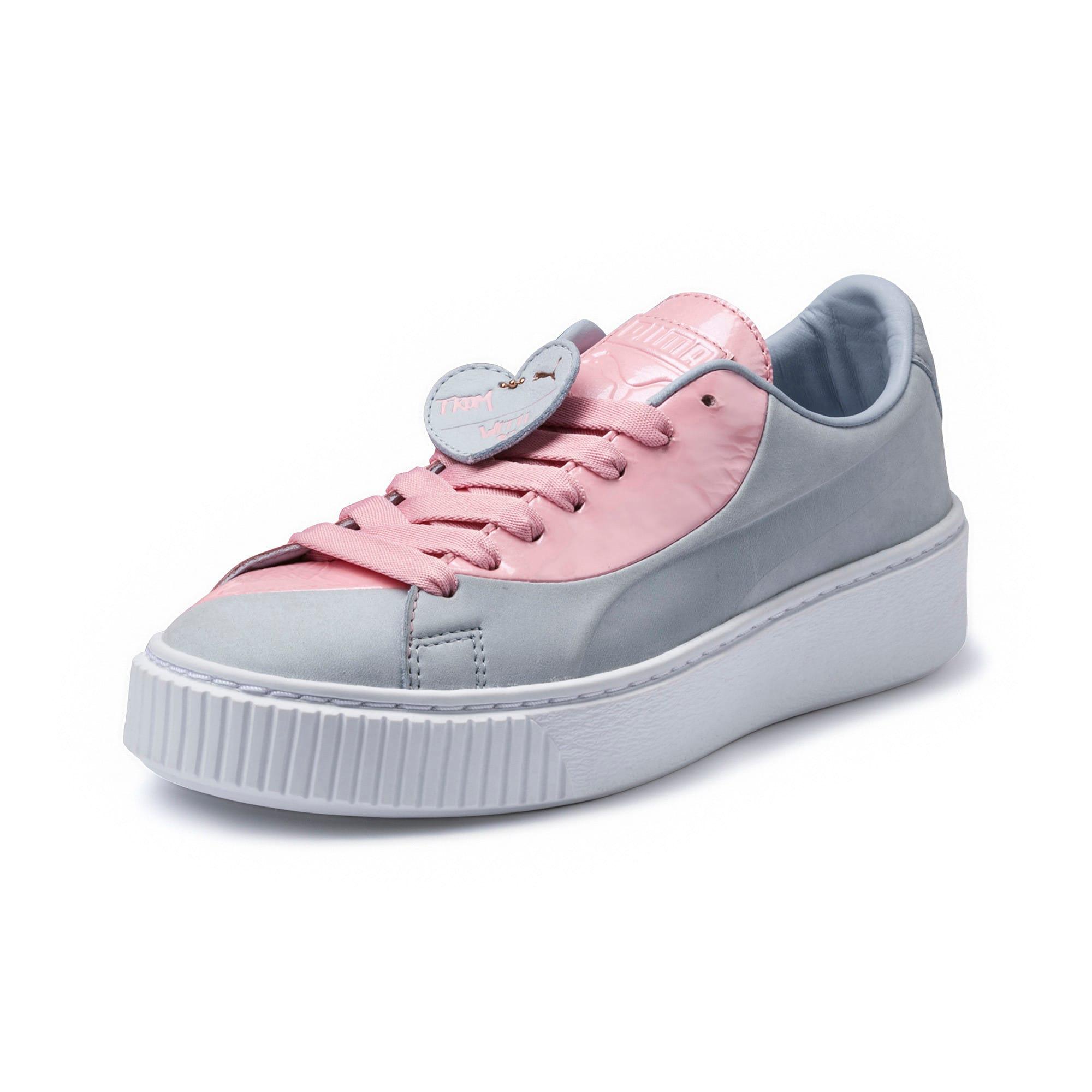 100% authentic 0ae96 44710 Basket Platform Valentine Women's Sneakers