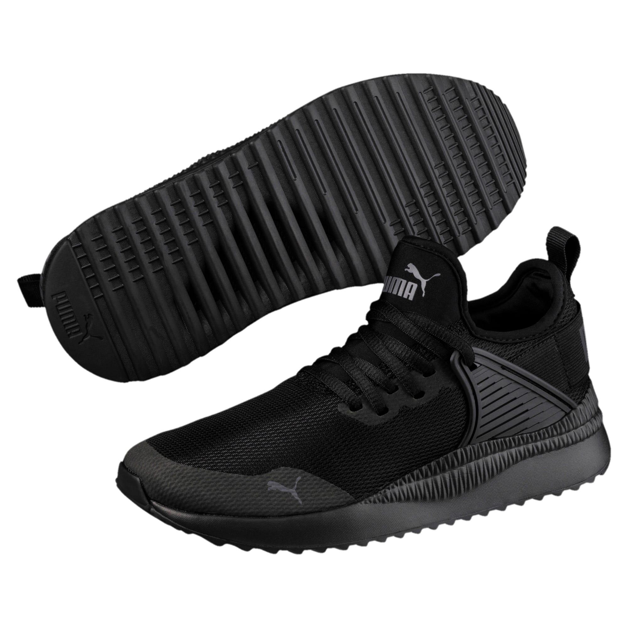 Thumbnail 2 of Pacer Next Cage Sneakers JR, Puma Black-Puma Black, medium
